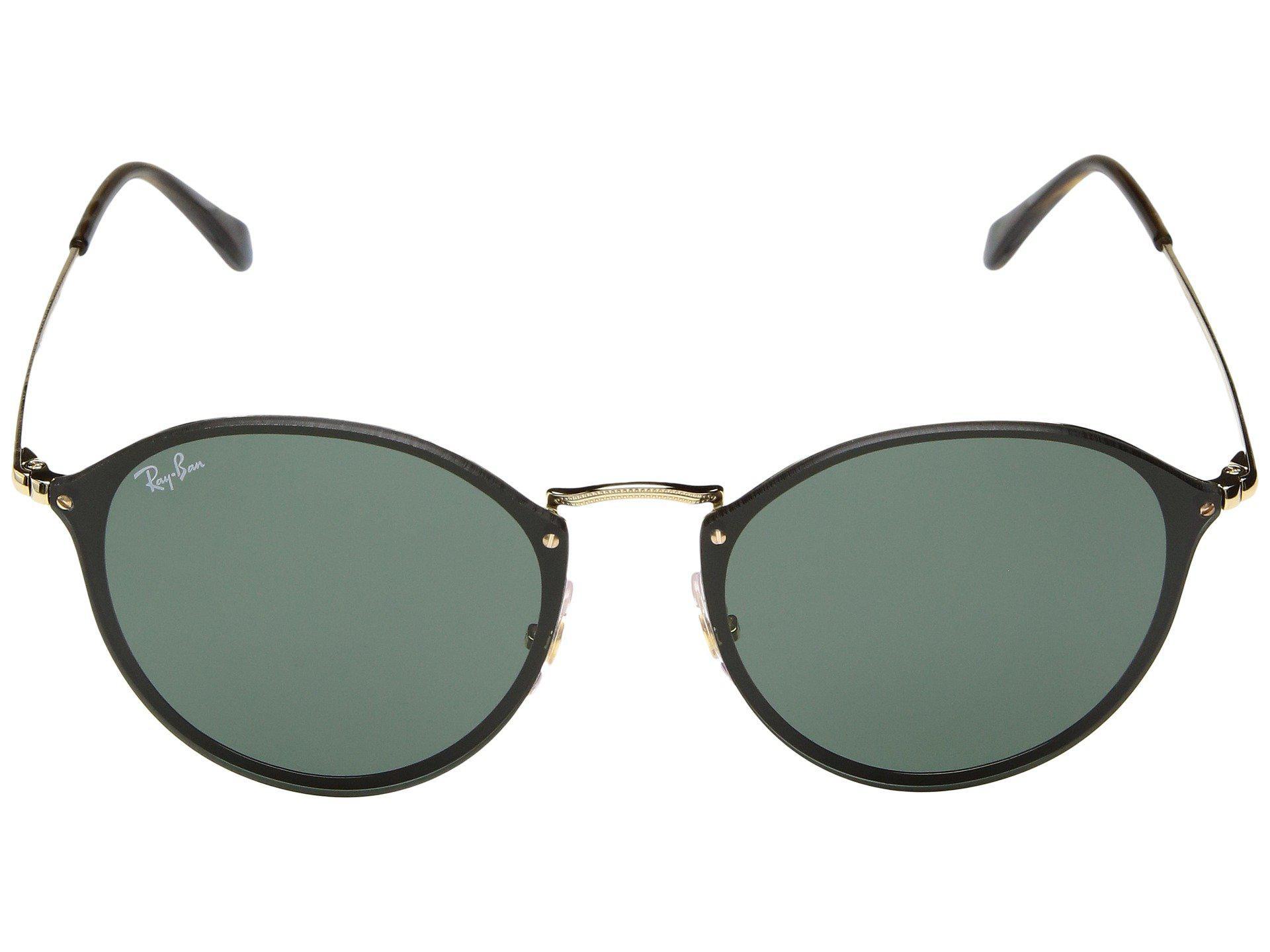 817bdeb424 Ray-Ban - Multicolor Blaze Round Rb3574n 59mm (gold green Classic) Fashion.  View fullscreen