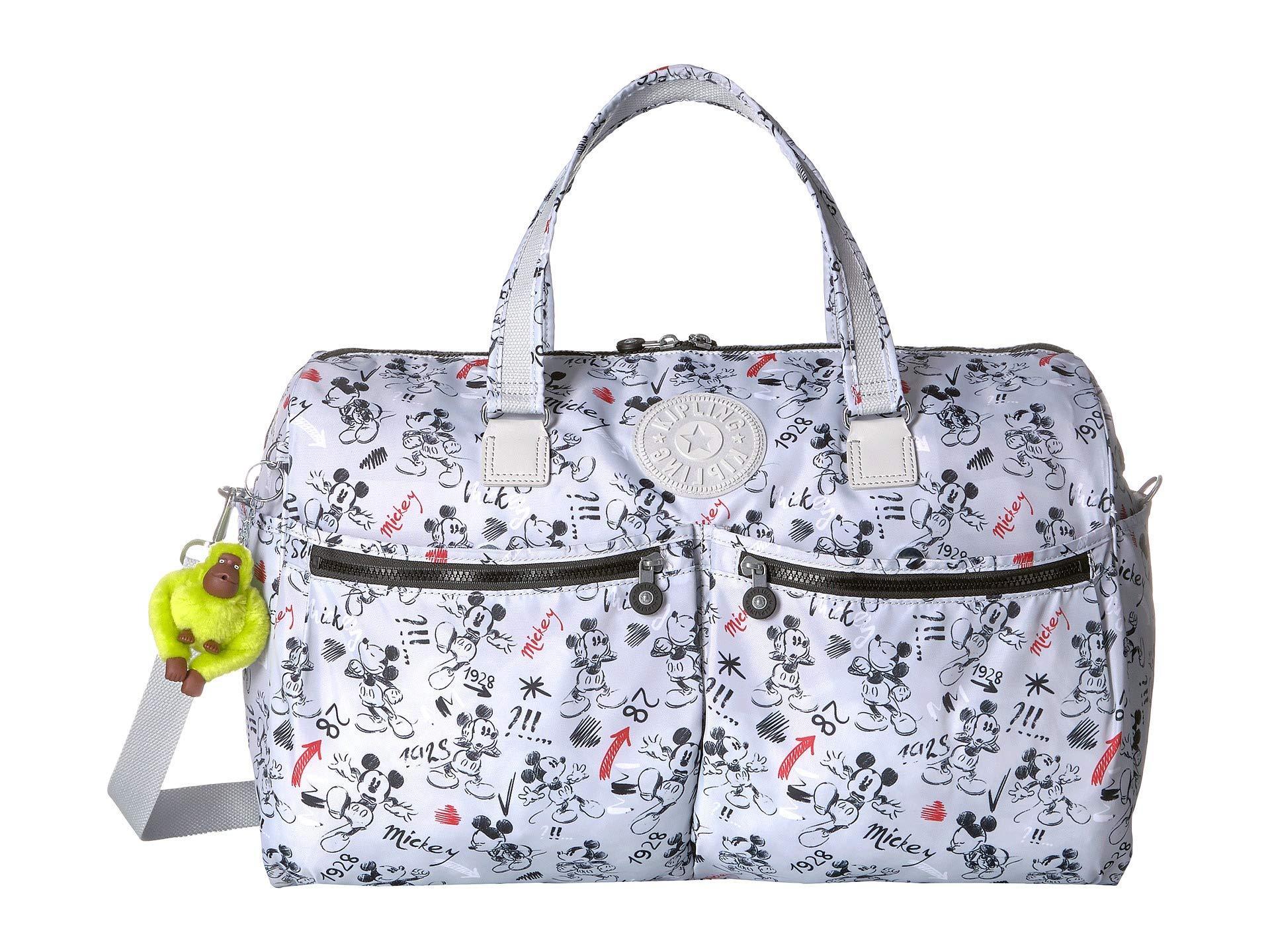 0b8317eb081c Kipling. Women s Gray Disney Mickey Mouse Itska Duffel (sketch Red) Duffel  Bags