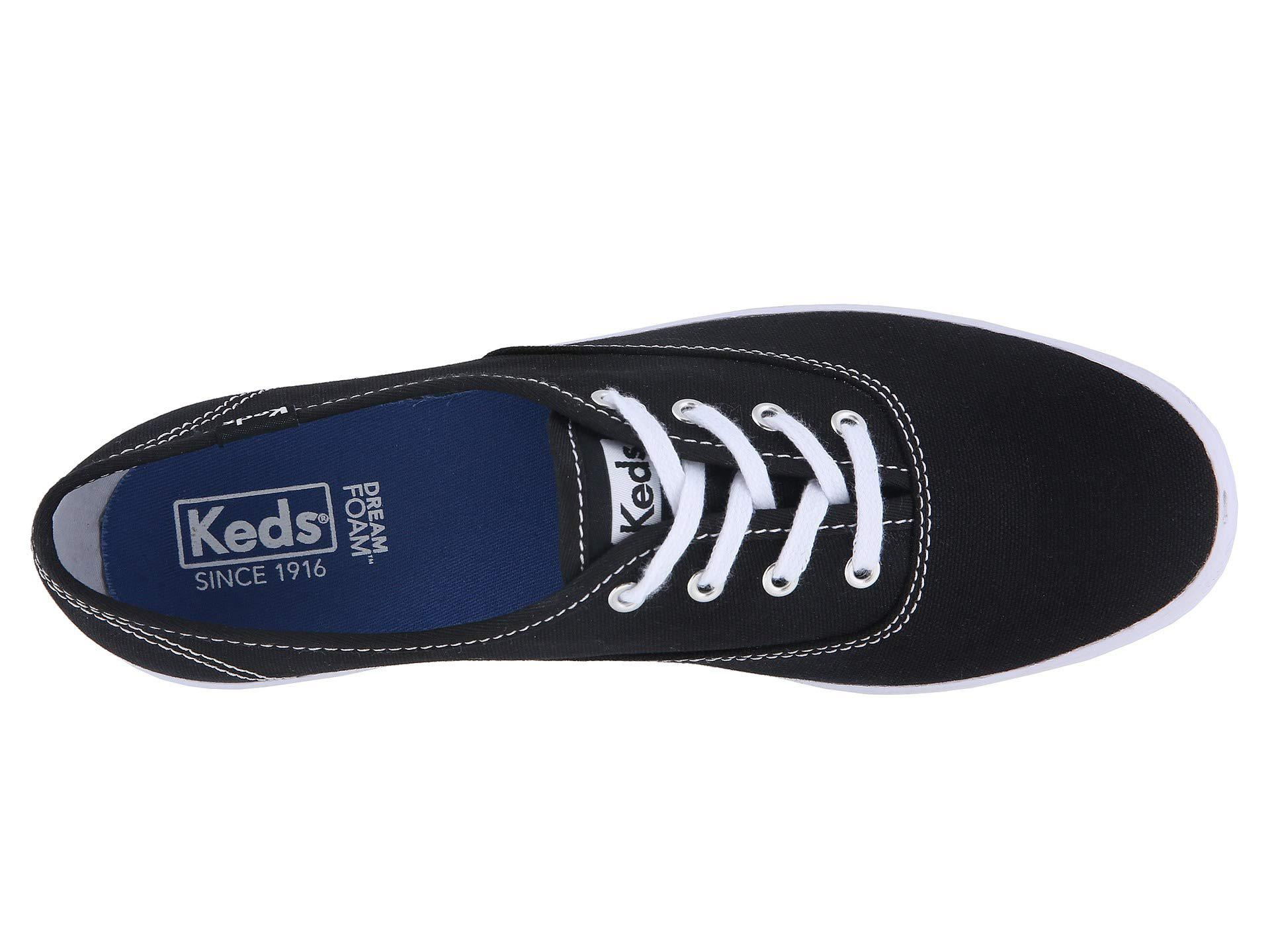 5ecd9648b7eb7 Keds - Black Champion Core Trainers - Lyst. View fullscreen