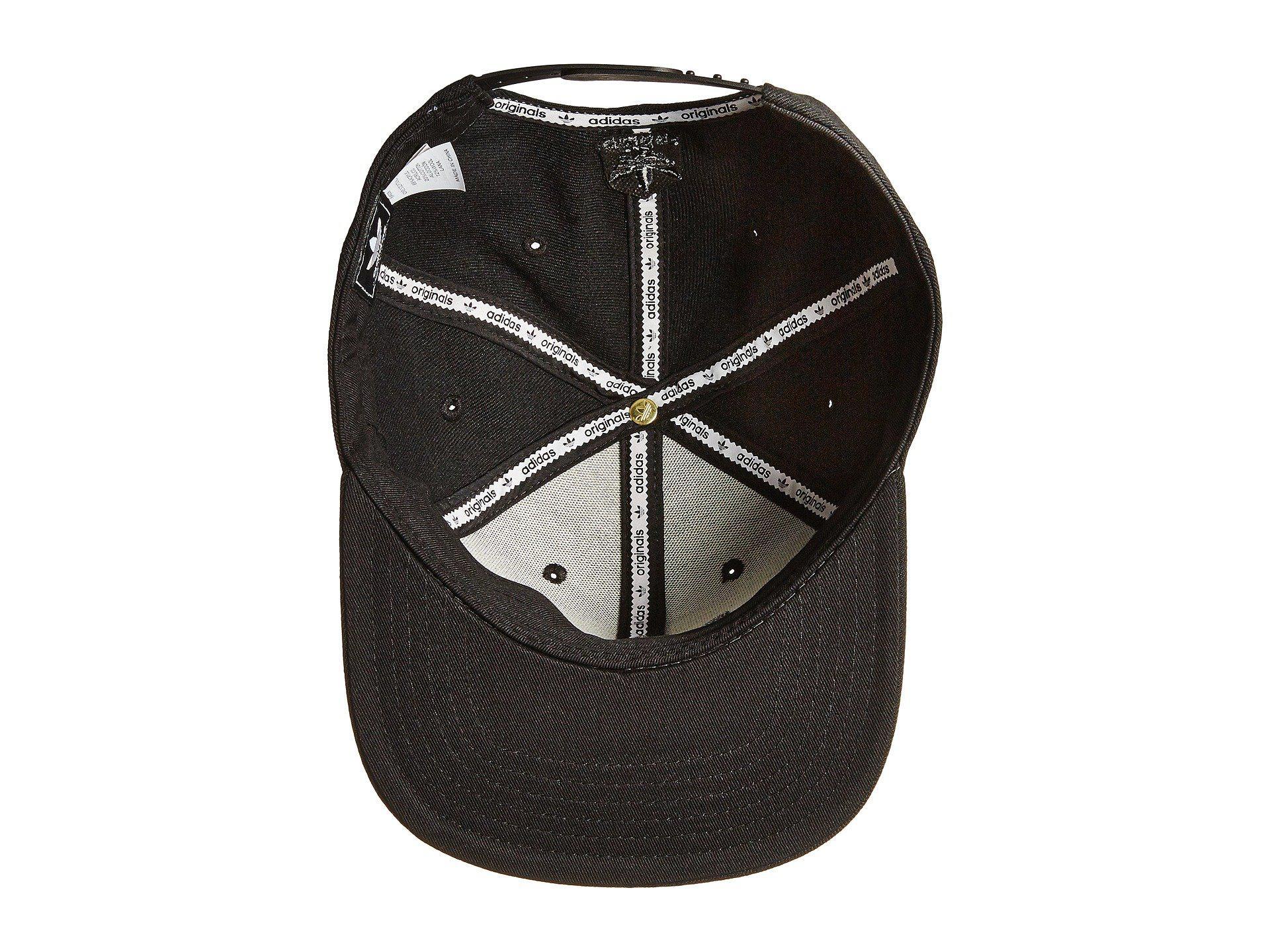 a9058052206 Adidas Originals - Originals Trefoil Chain Snapback Cap (heather Grey black)  Caps for. View fullscreen