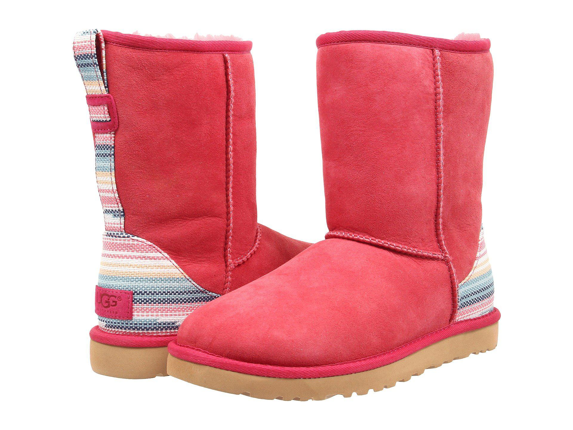 07ea032e1b4c06 ... new zealand ugg. red classic short serape 2d6f3 078e5