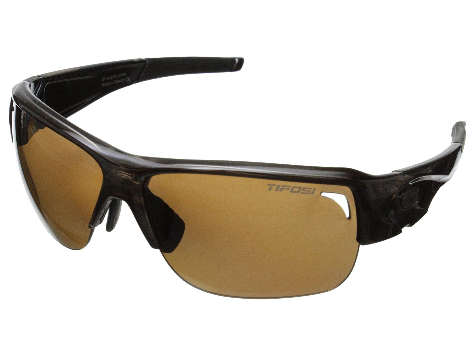 075e8590640 Lyst - Tifosi Optics Elder Polarized (crystal Brown) Polarized Sport ...