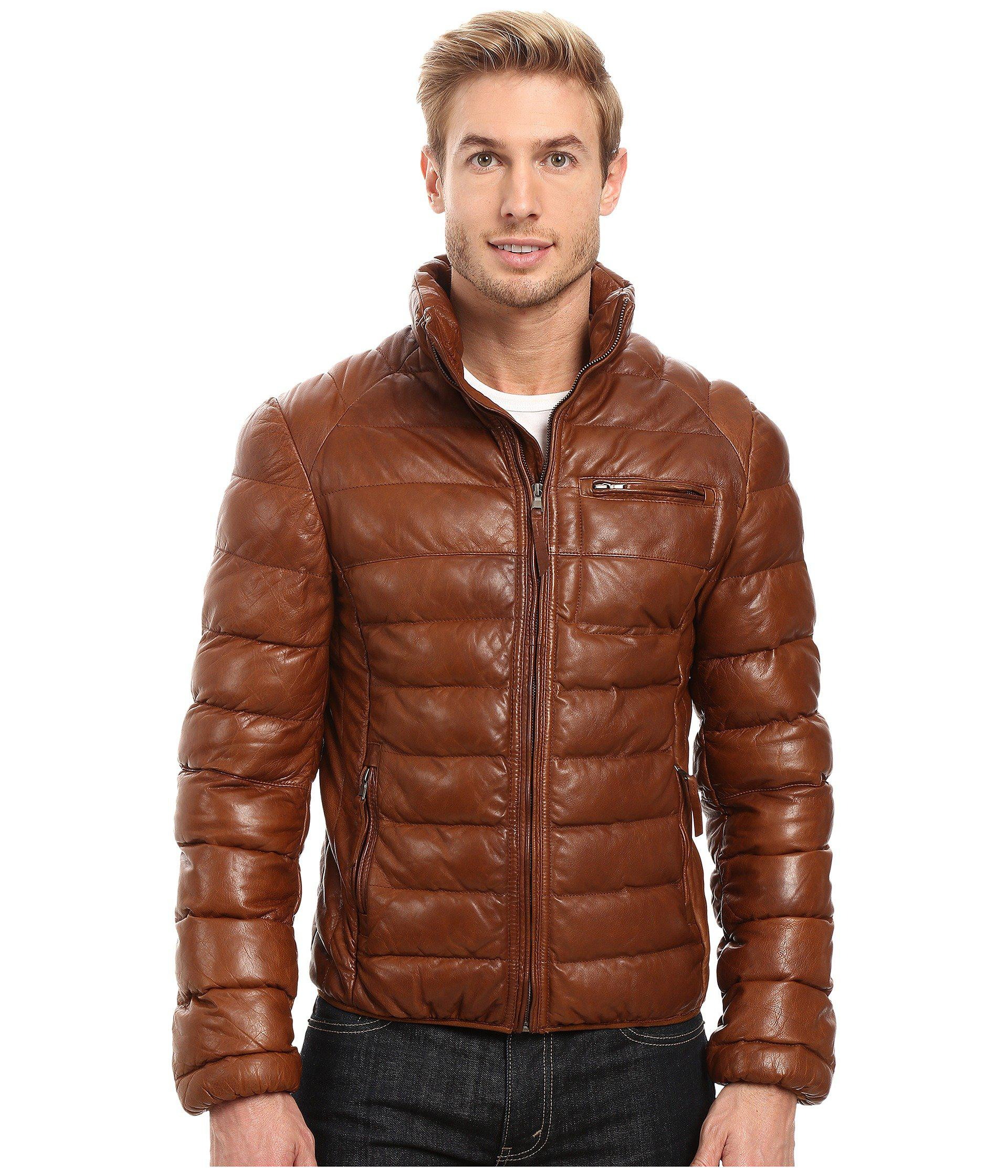 Lyst - Scully David Very Soft Leather Jacket for Men