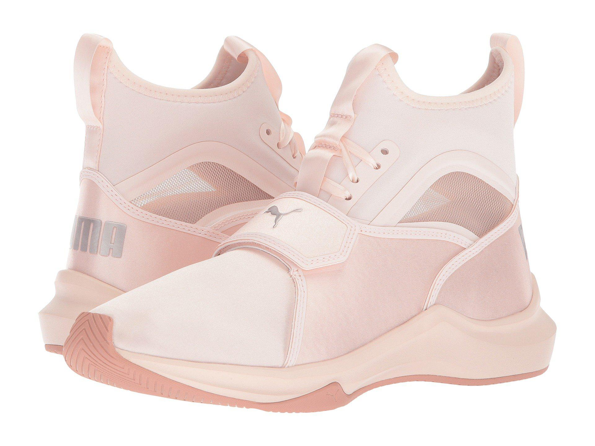 Lyst - PUMA Phenom Satin Ep (pearl pearl) Women s Shoes in Pink 40f0d94a8