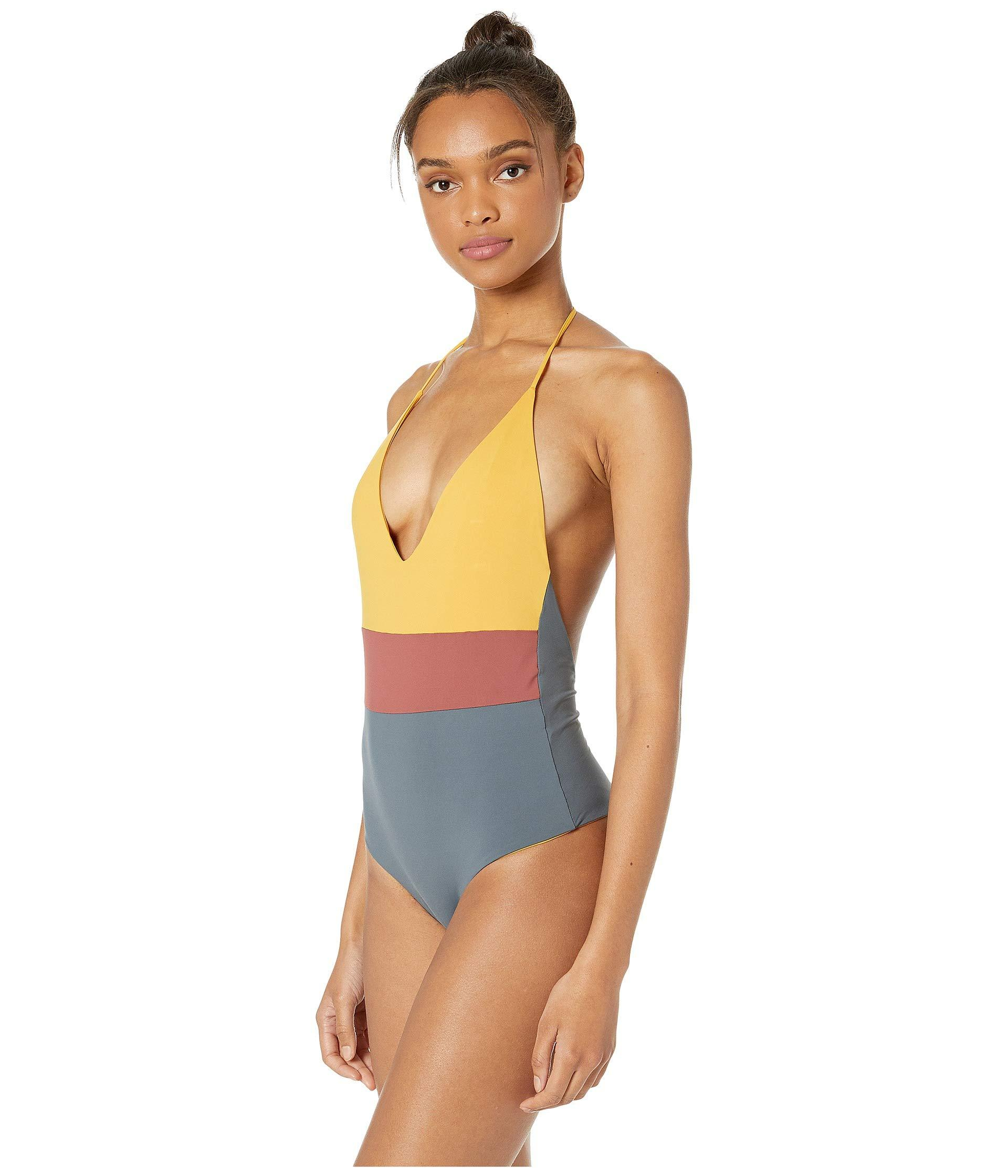 9c0428cb43 Lyst - Tavik Chase One-piece Swimsuit (desert Rose/turbulence Grey) Women's Swimsuits  One Piece in Gray