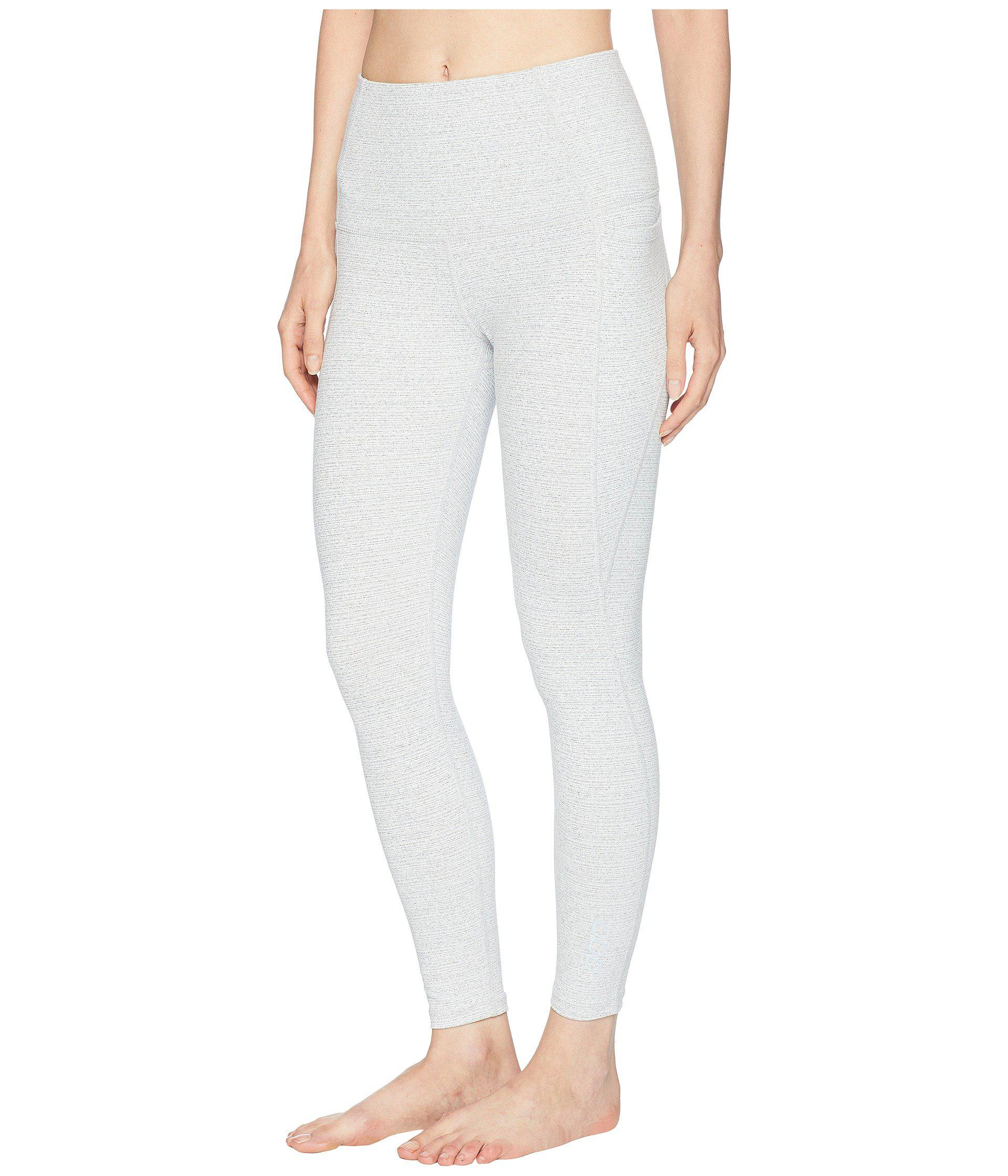 6a40bc24b1f Lorna Jane Workout Core Ankle Biter Tights (pale Grey Marl) Women s ...