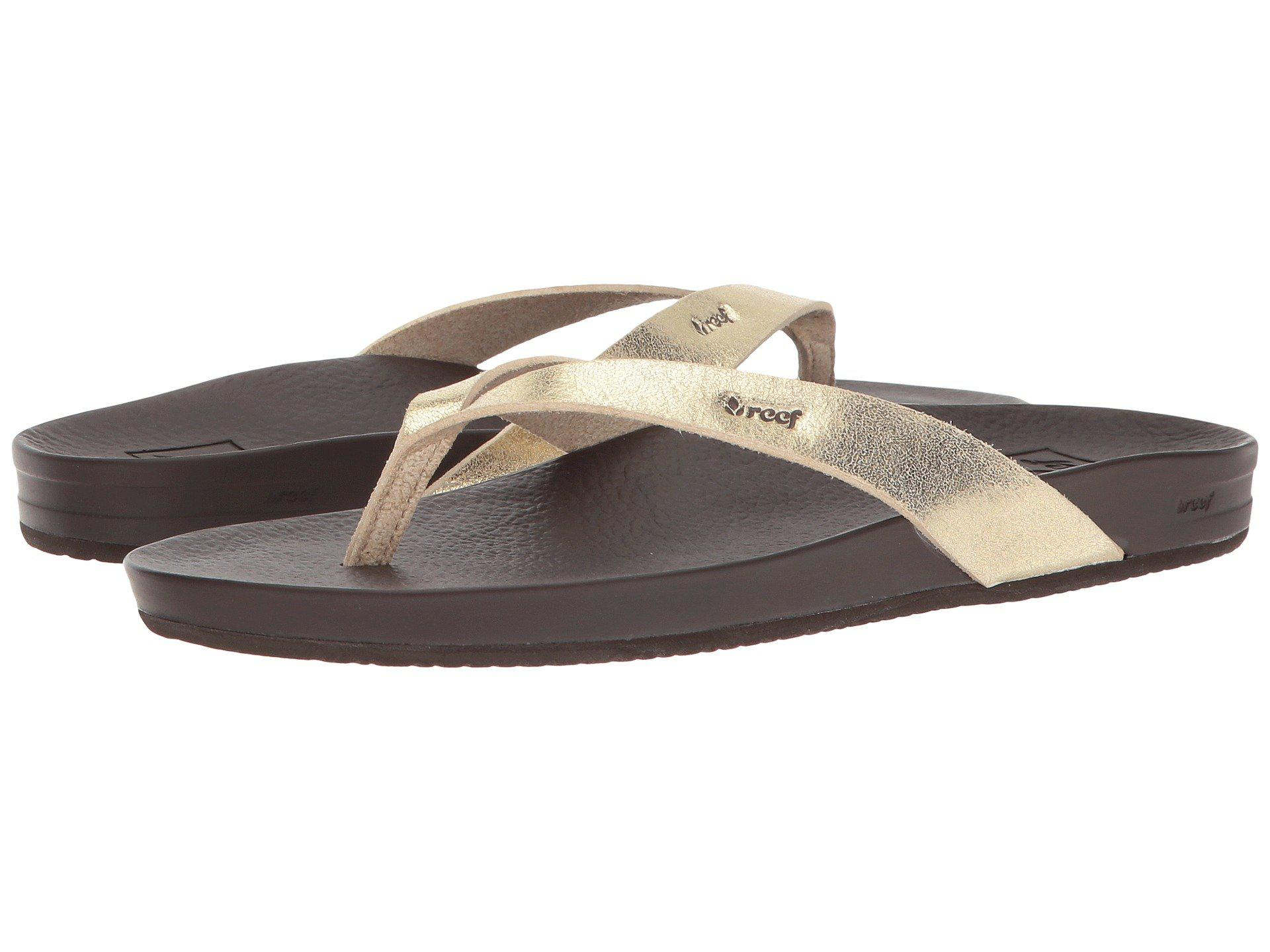 4a3052149df Reef - Multicolor Cushion Bounce Court (rose Gold) Women s Sandals - Lyst.  View fullscreen