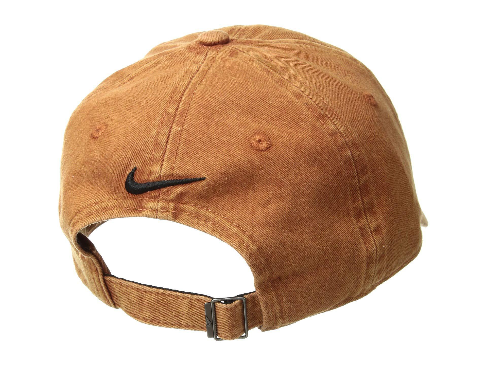 badc82e3b6cce Nike Nsw H86 Cap Just Do It (dark Russet black dark Russet) Baseball ...