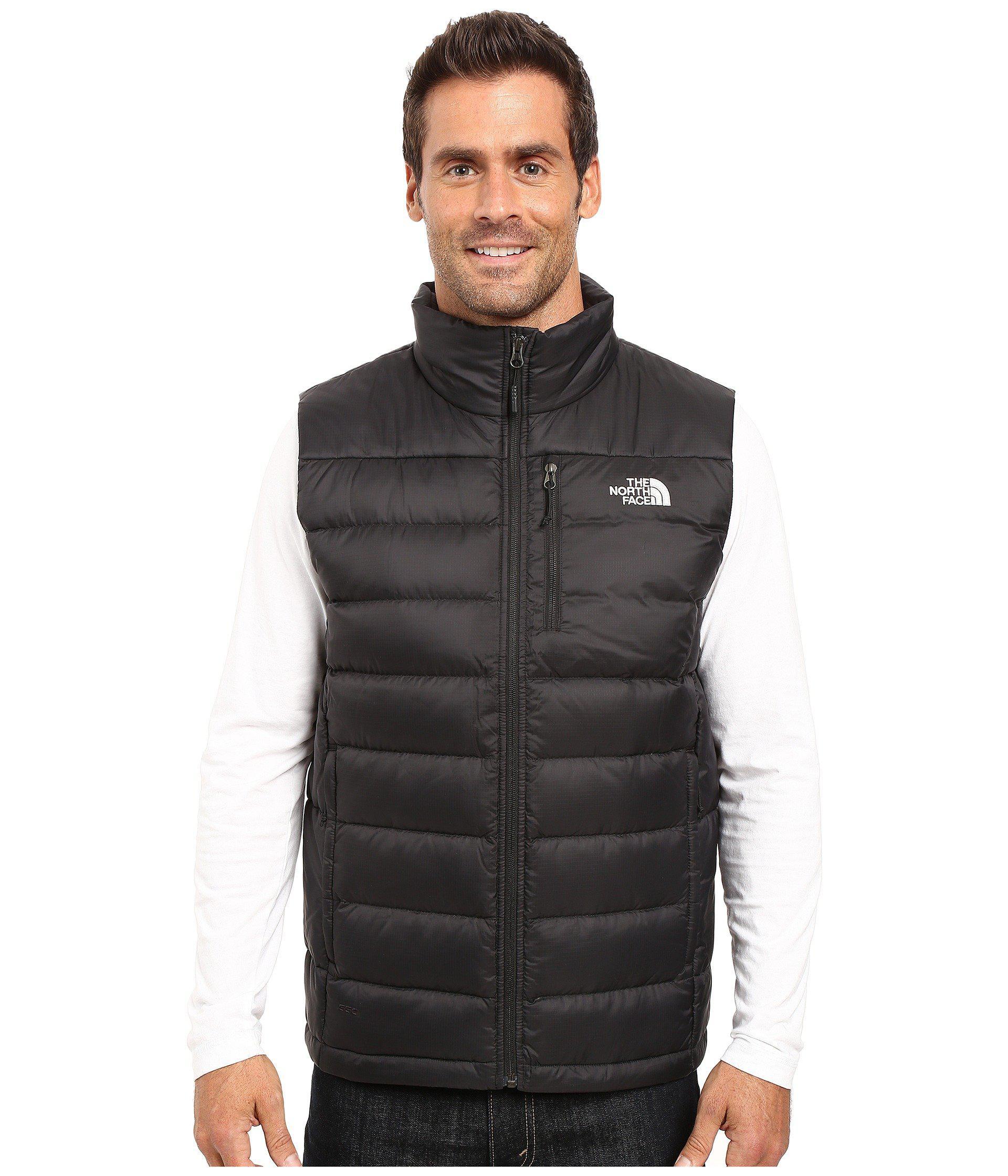 Lyst - The North Face Aconcagua Vest (tnf Black) Men s Vest for Men ... 7fce0add7