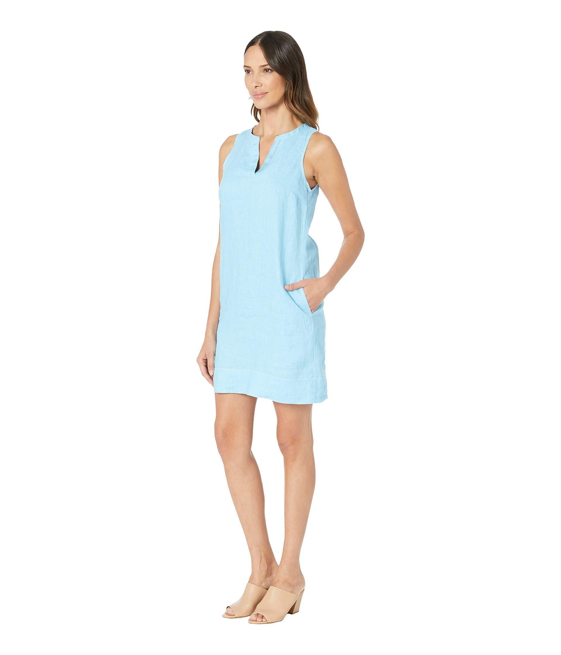 f41511bf722 Lyst - Tommy Bahama Seaglass Linen Shift Dress (scandia Blue) Women s Dress  in Blue