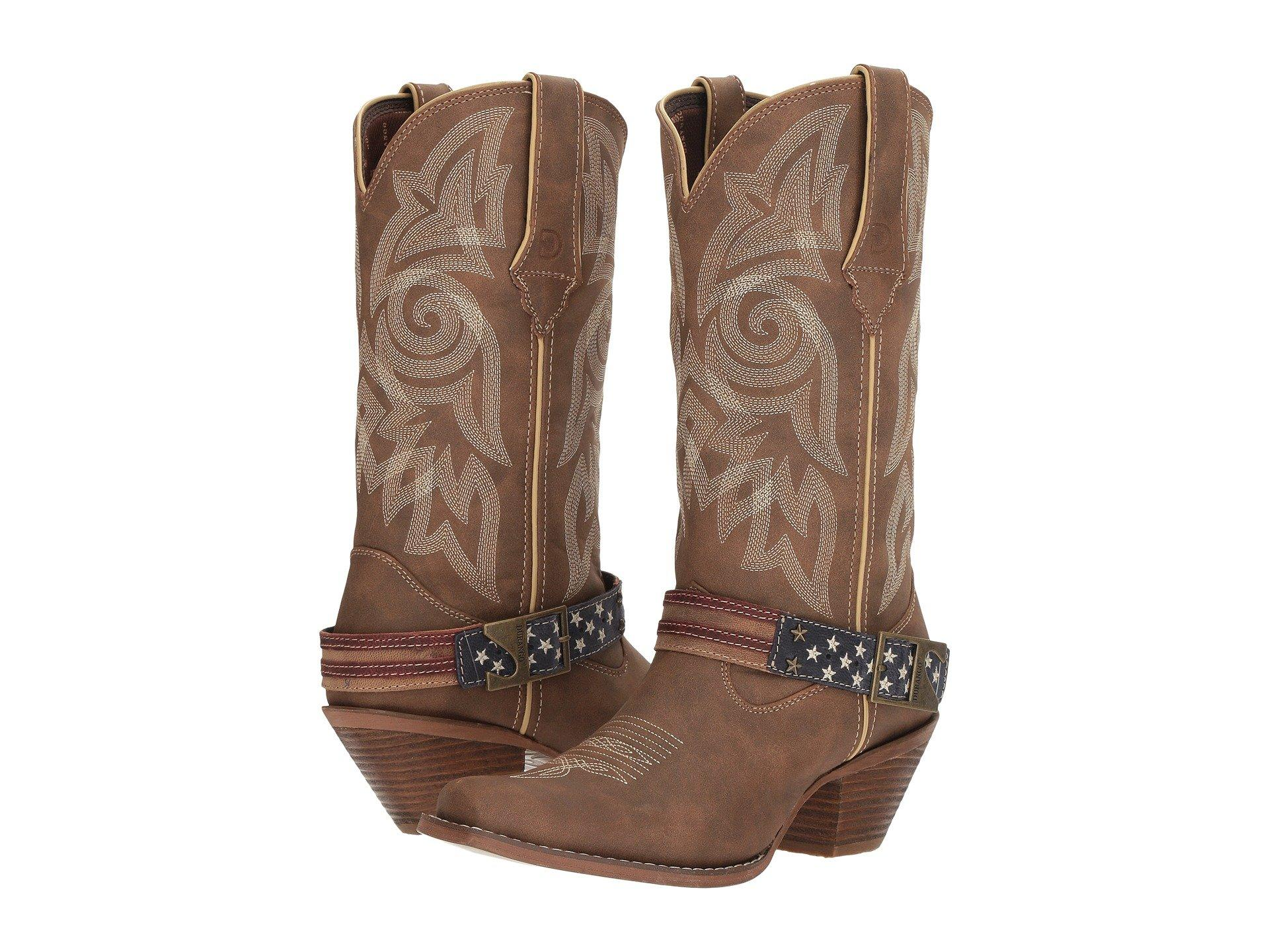 c72b009aa8e Women's Crush 12 Flag Accessory Strap (brown/khaki) Cowboy Boots