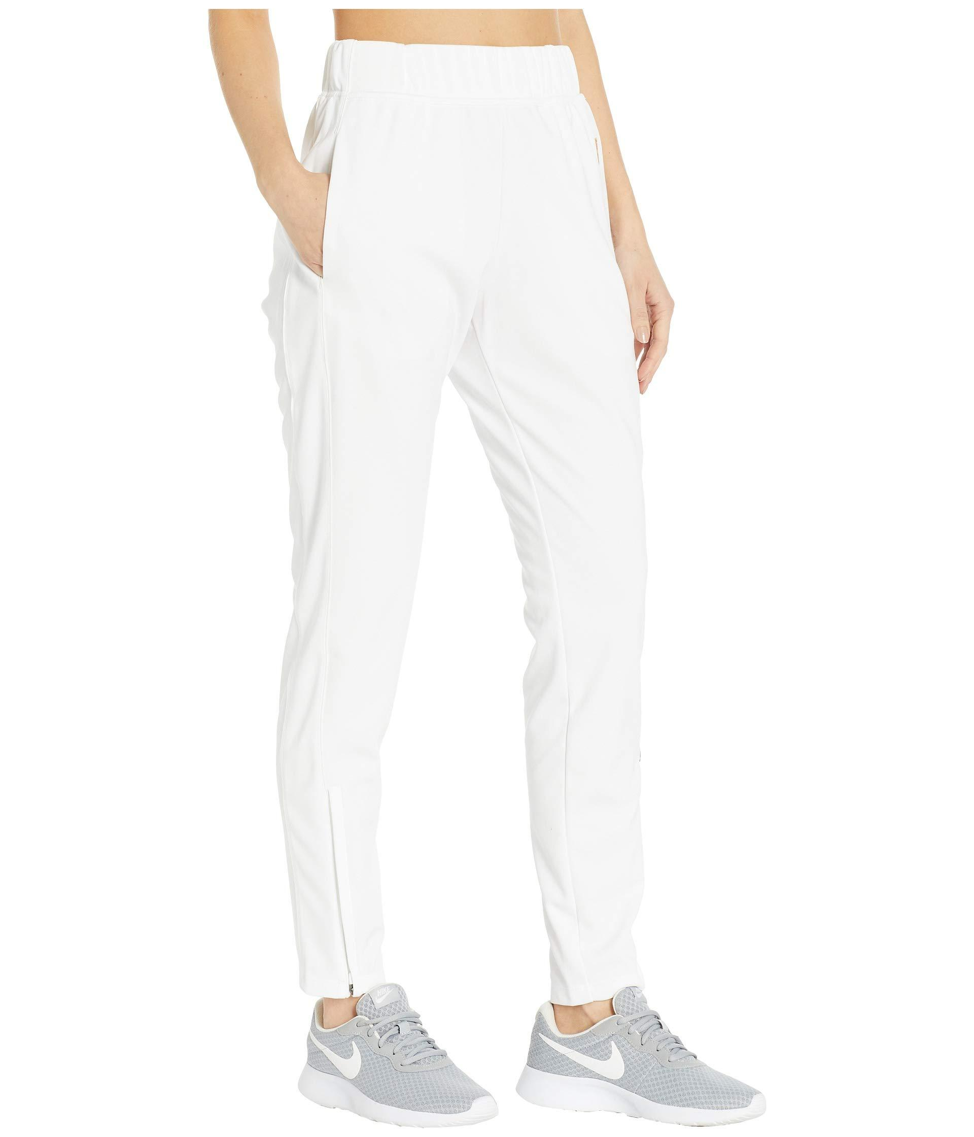 2d32fcfa43 Nike Court Warm Up Pants (white/white/white) Women's Casual Pants in ...