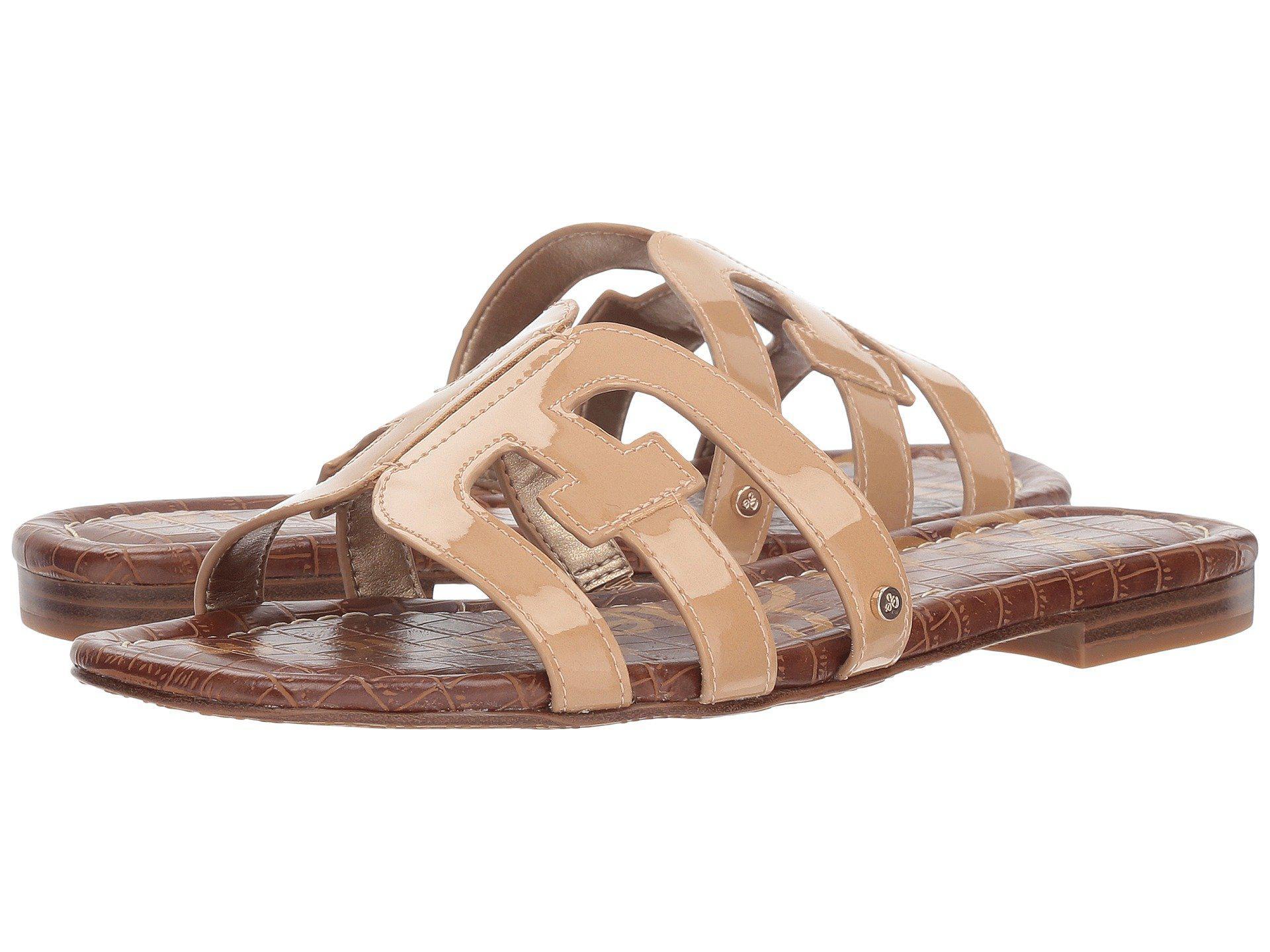 5556062dbde4 Lyst - Sam Edelman Bay (almond Patent) Women s Slide Shoes