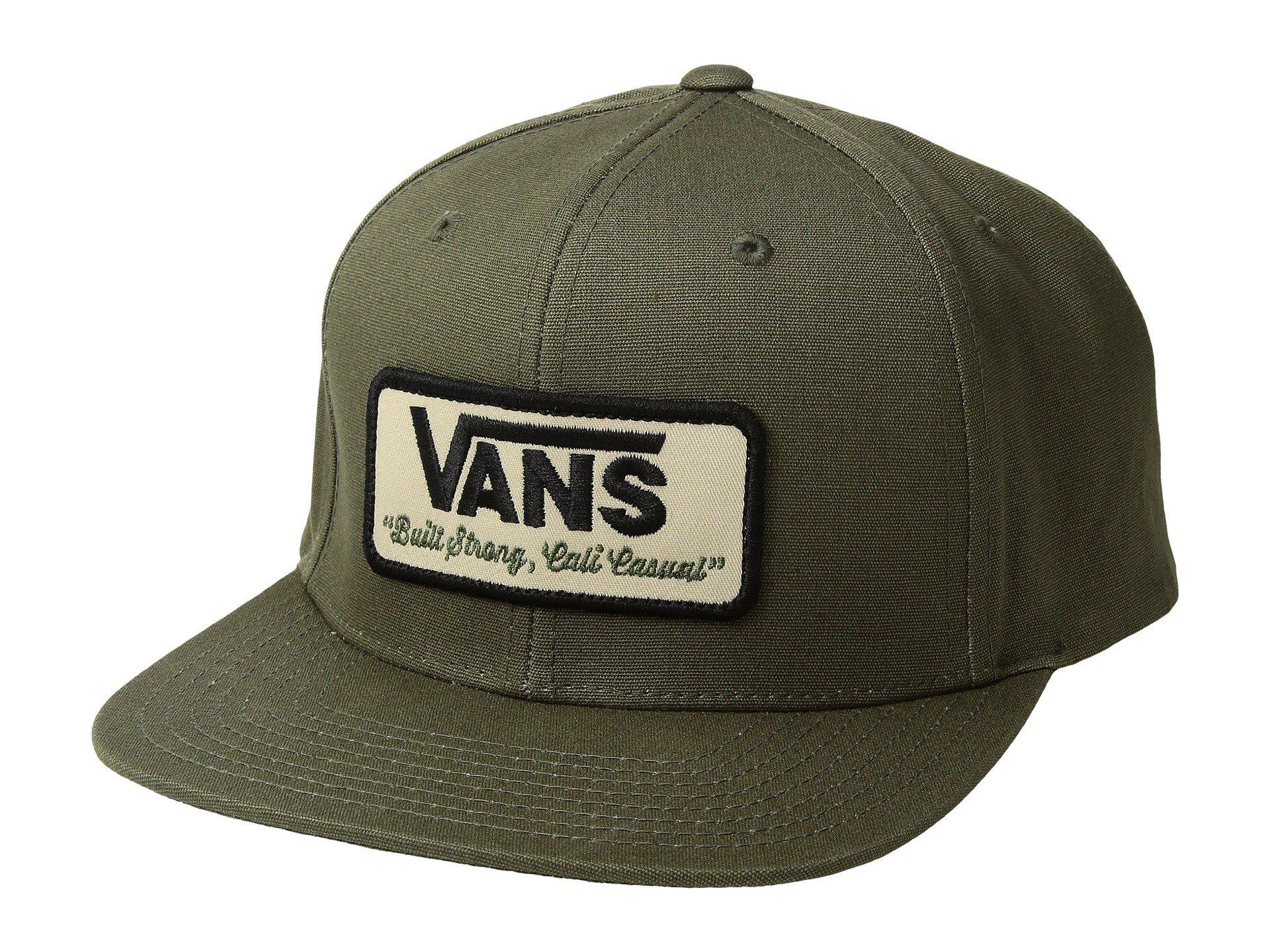 0b76eccefdf9d3 Lyst - Vans Rowley Snapback (grape Leaf) Caps in Green for Men