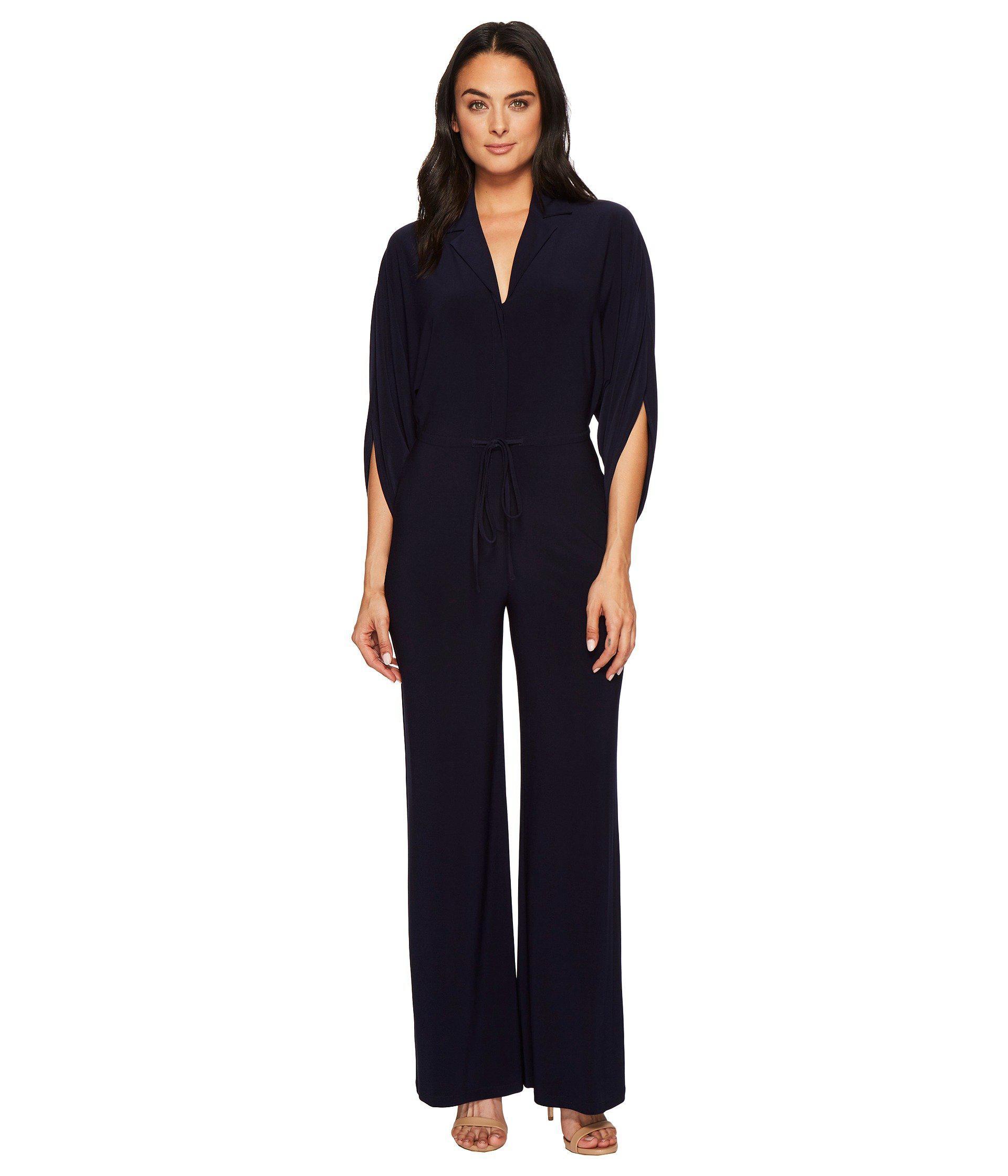0dbaa56db02 Lyst - Lauren by Ralph Lauren Nathaniel Matte Jersey Jumpsuit ...