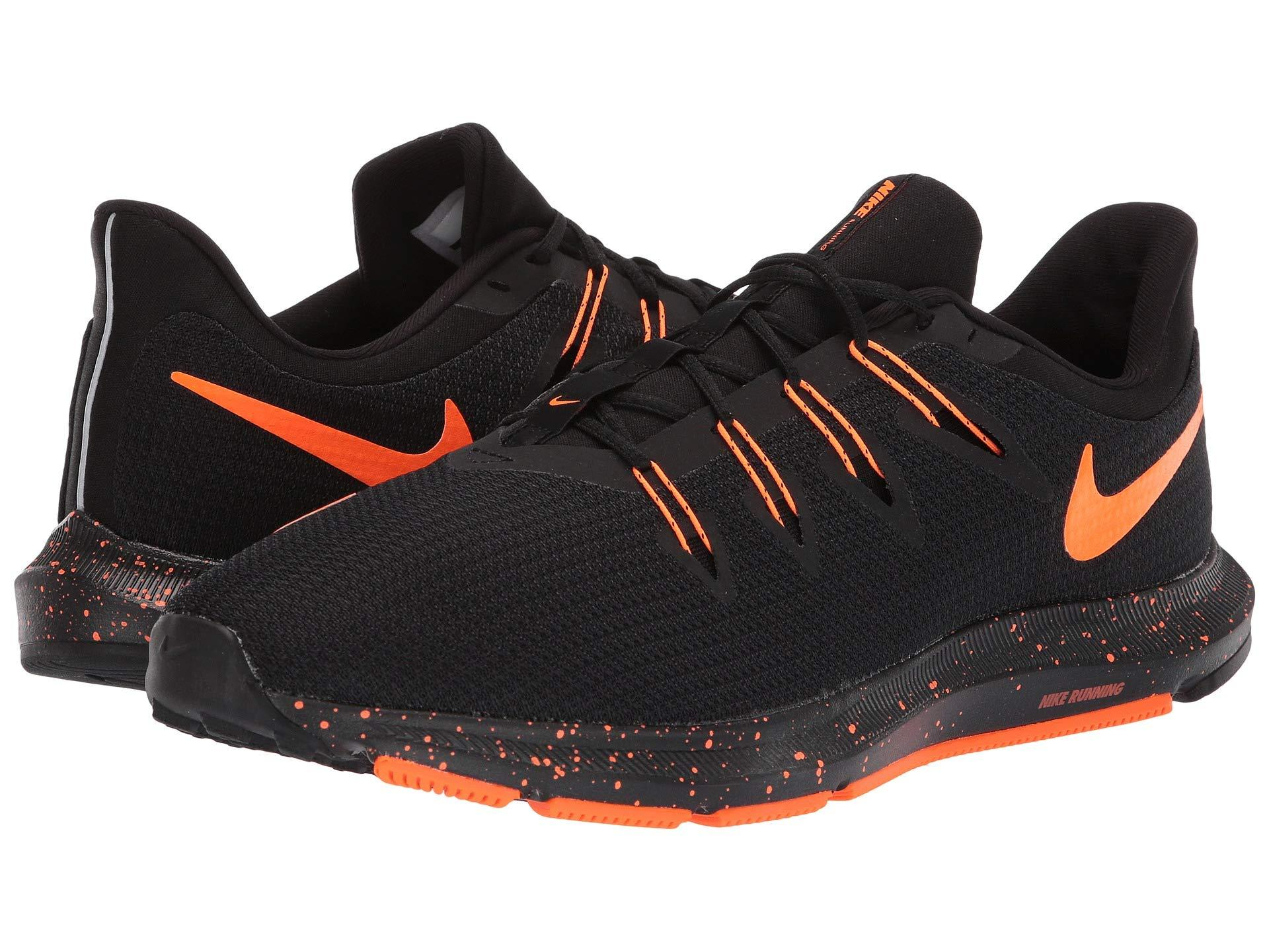 4afb8ff95e83d8 Lyst - Nike Quest (black total Orange) Men s Running Shoes in Black ...