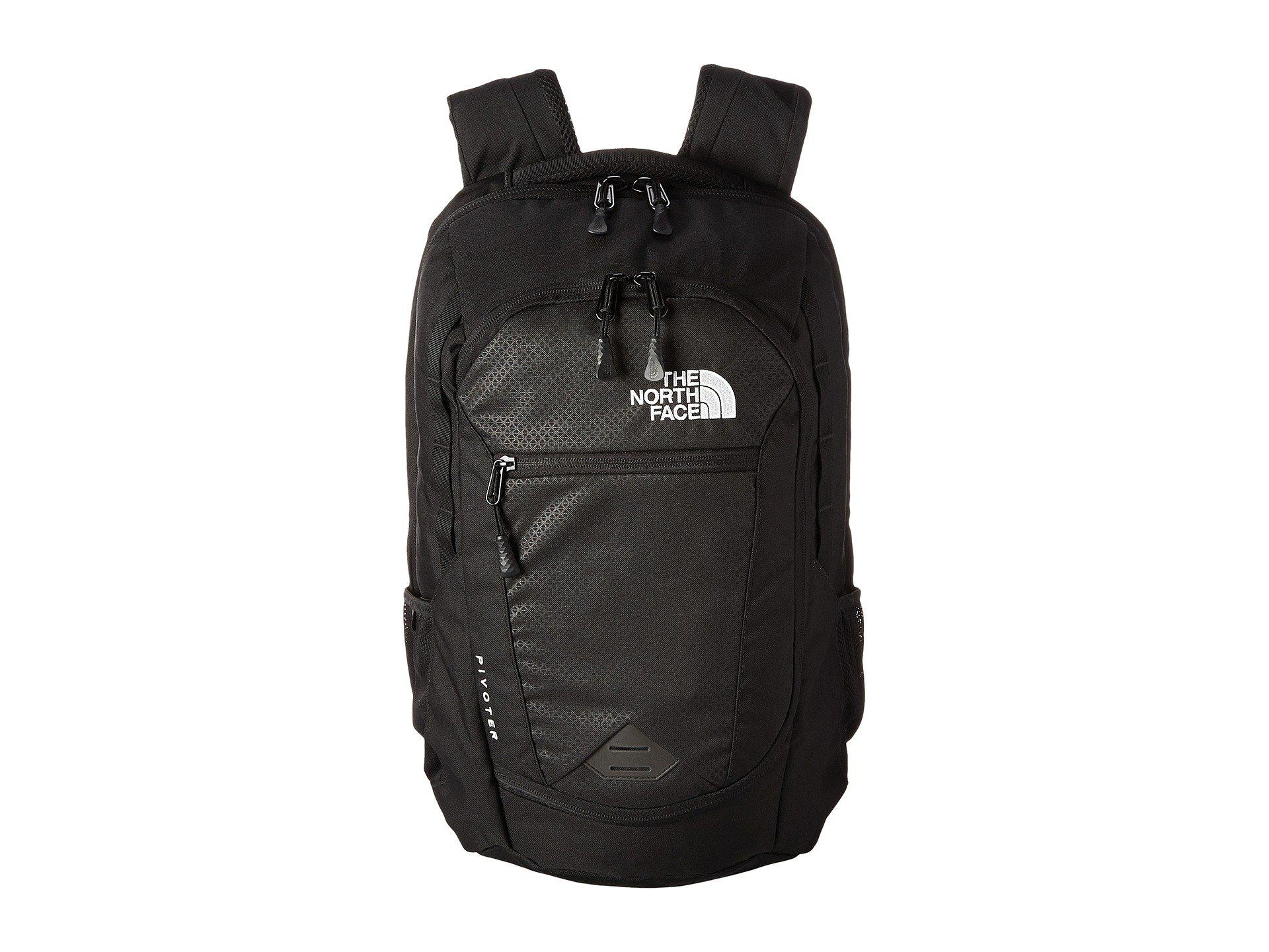 6f2117de6227 Lyst - The North Face Pivoter (tnf Black) Backpack Bags in Black for Men
