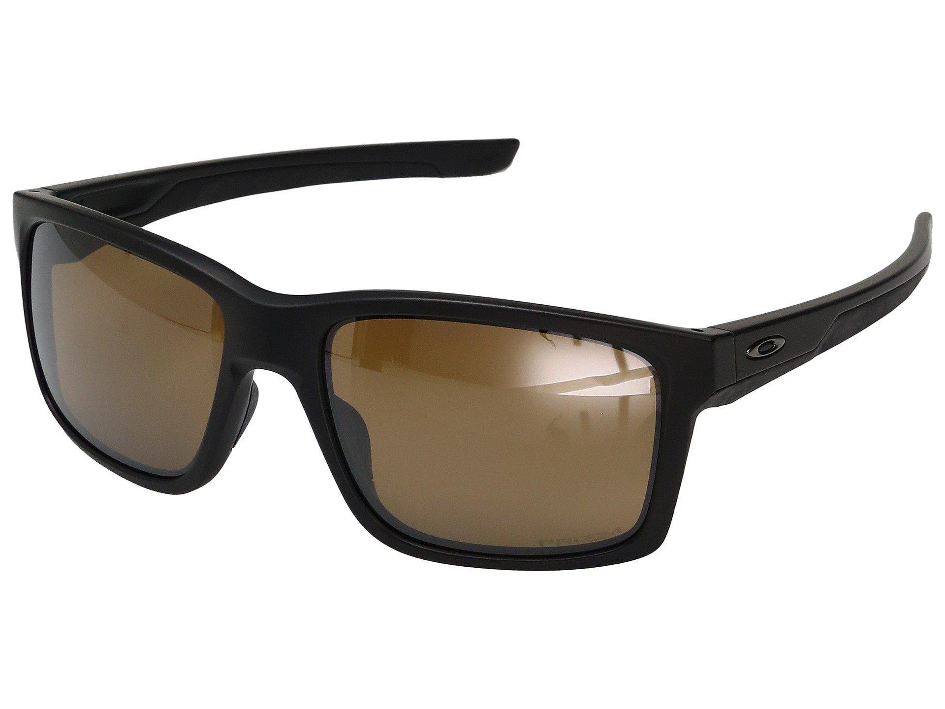 bb896cba6c7e5 Oakley. Men s Mainlink (matte Black W  Prizm Tungsten Polarized) Fashion  Sunglasses