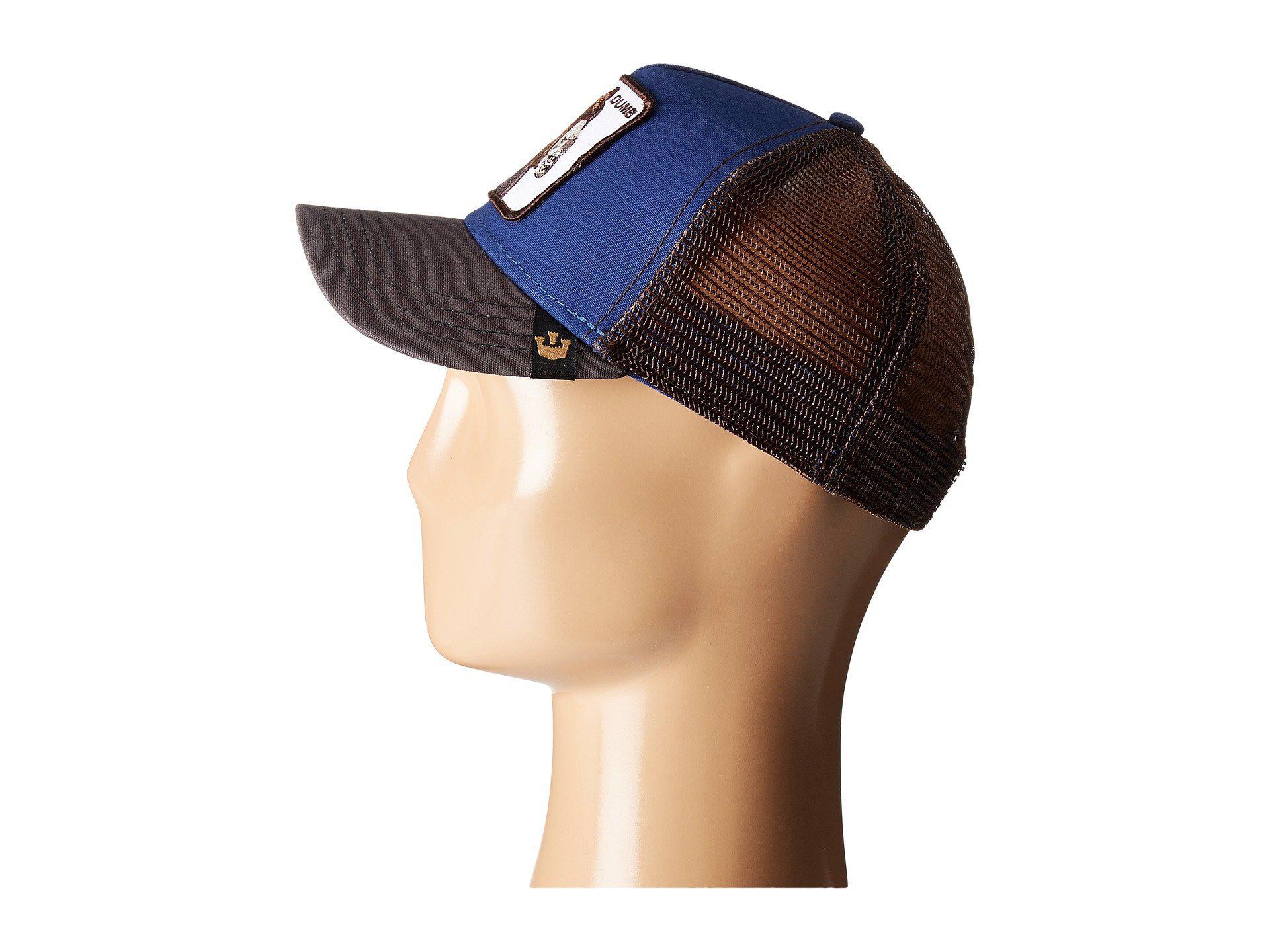 Lyst - Goorin Bros Animal Farm Snap Back Trucker Hat (black Rooster ... 8fb342c78c75