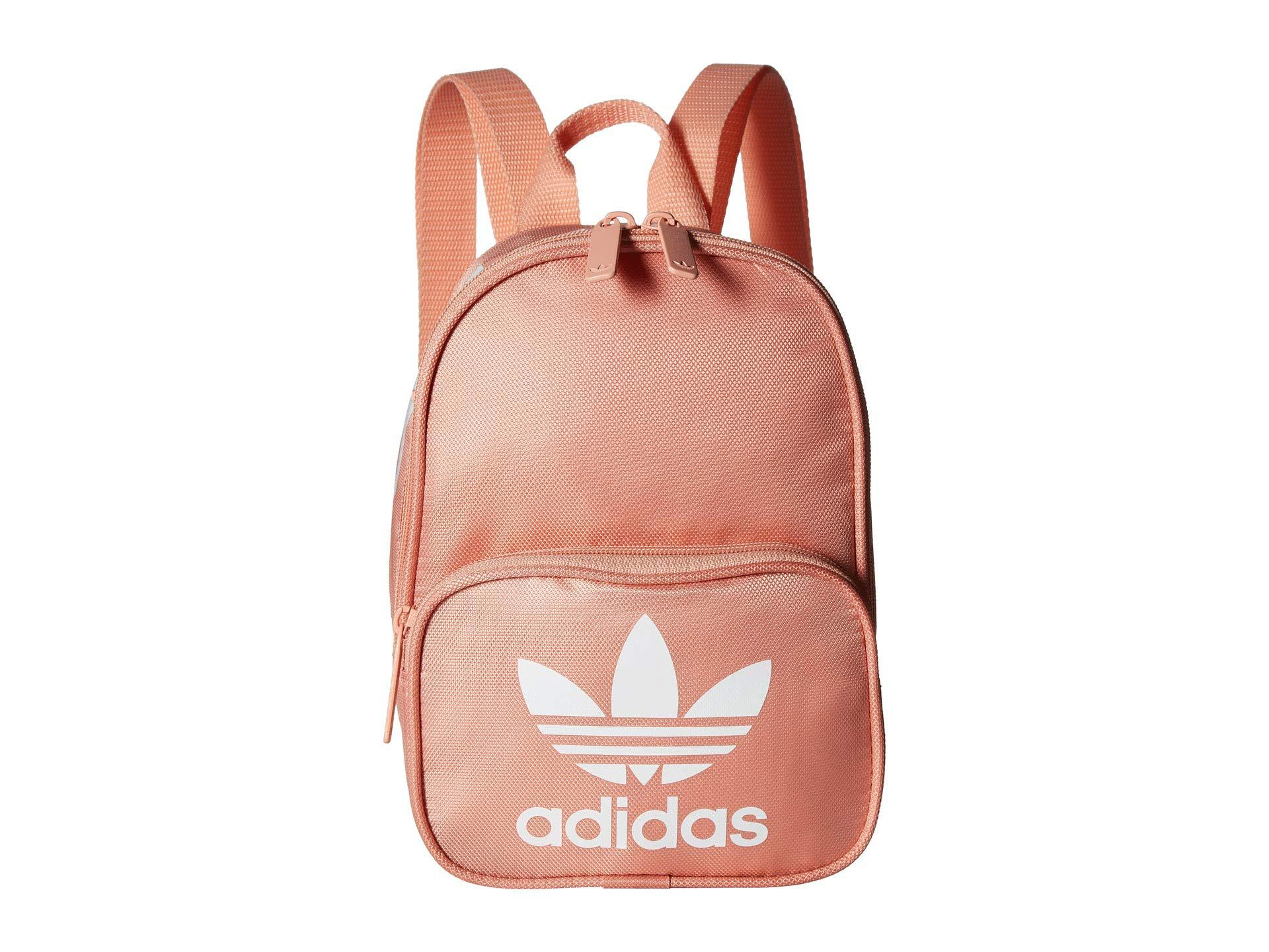 Lyst - adidas Originals Originals Santiago Mini Backpack (collegiate ... 6d37e56096e63
