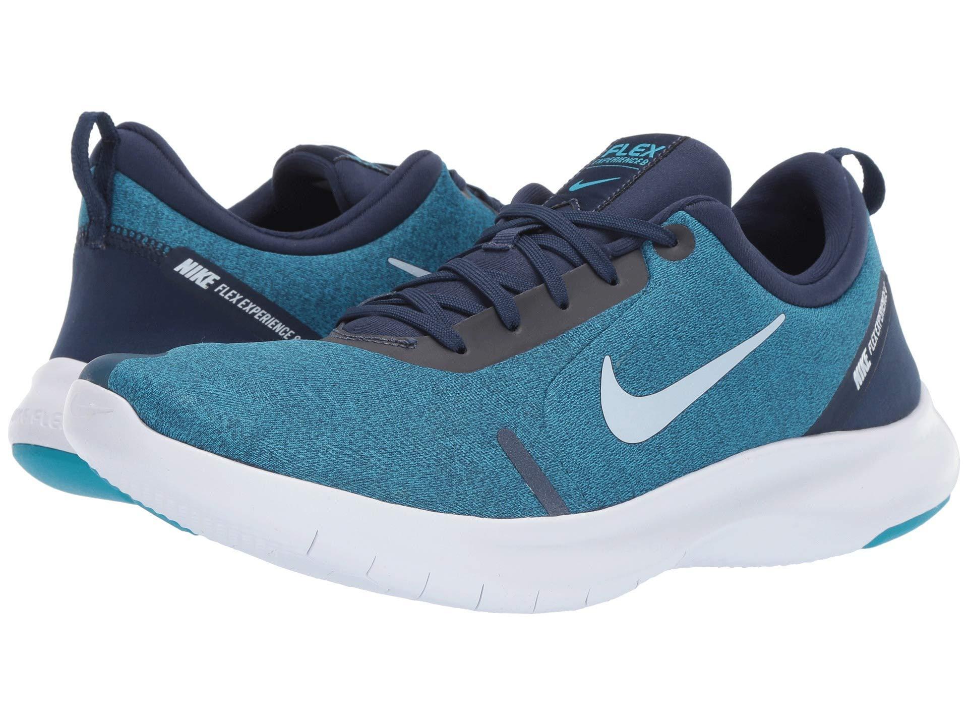 f04319c53870 Lyst - Nike Flex Experience Rn 8 (midnight Navy white monsoon Blue ...
