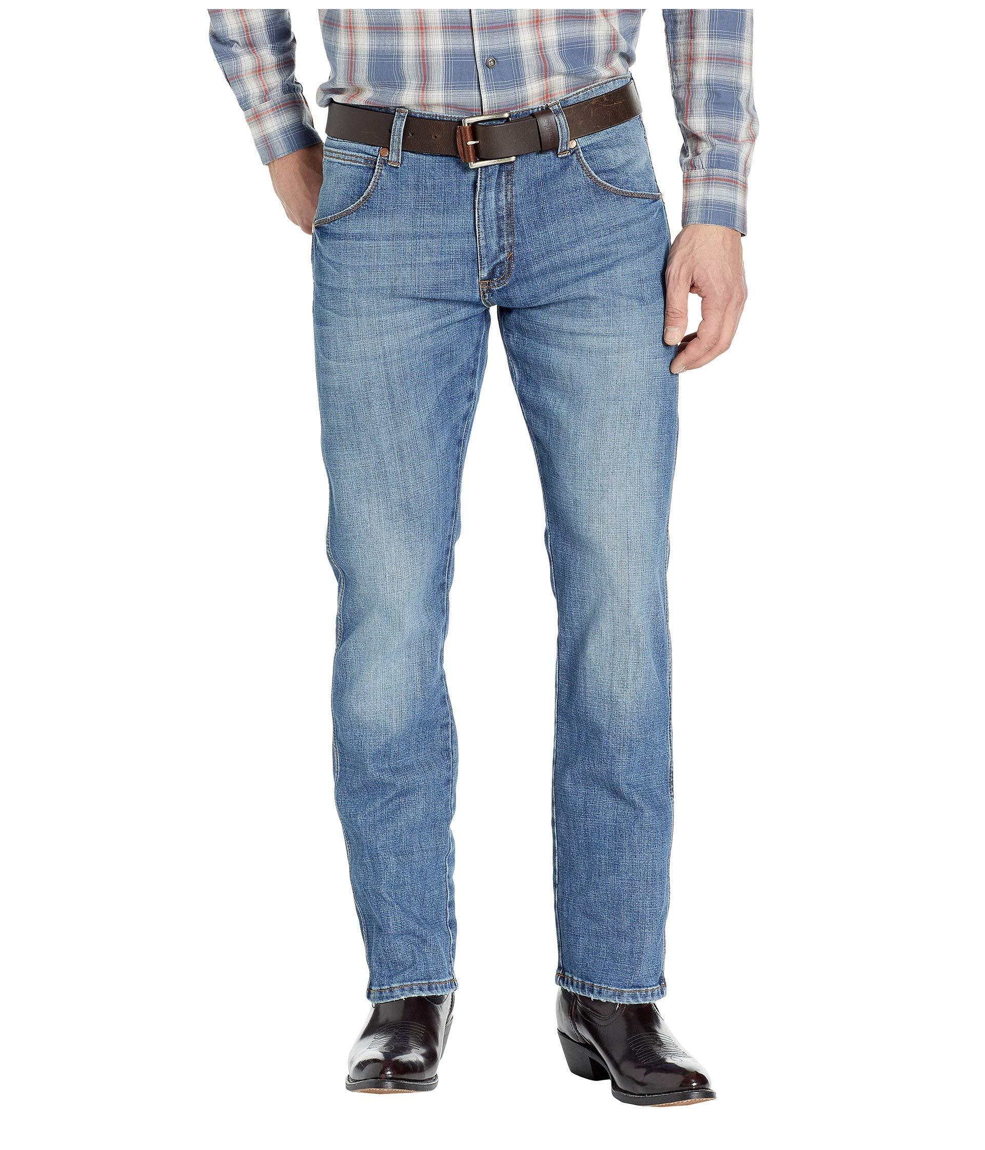 a6ca7a7b140a Wrangler. Blue Retro Premium Slim Straight Jeans (stephens) Men's Jeans