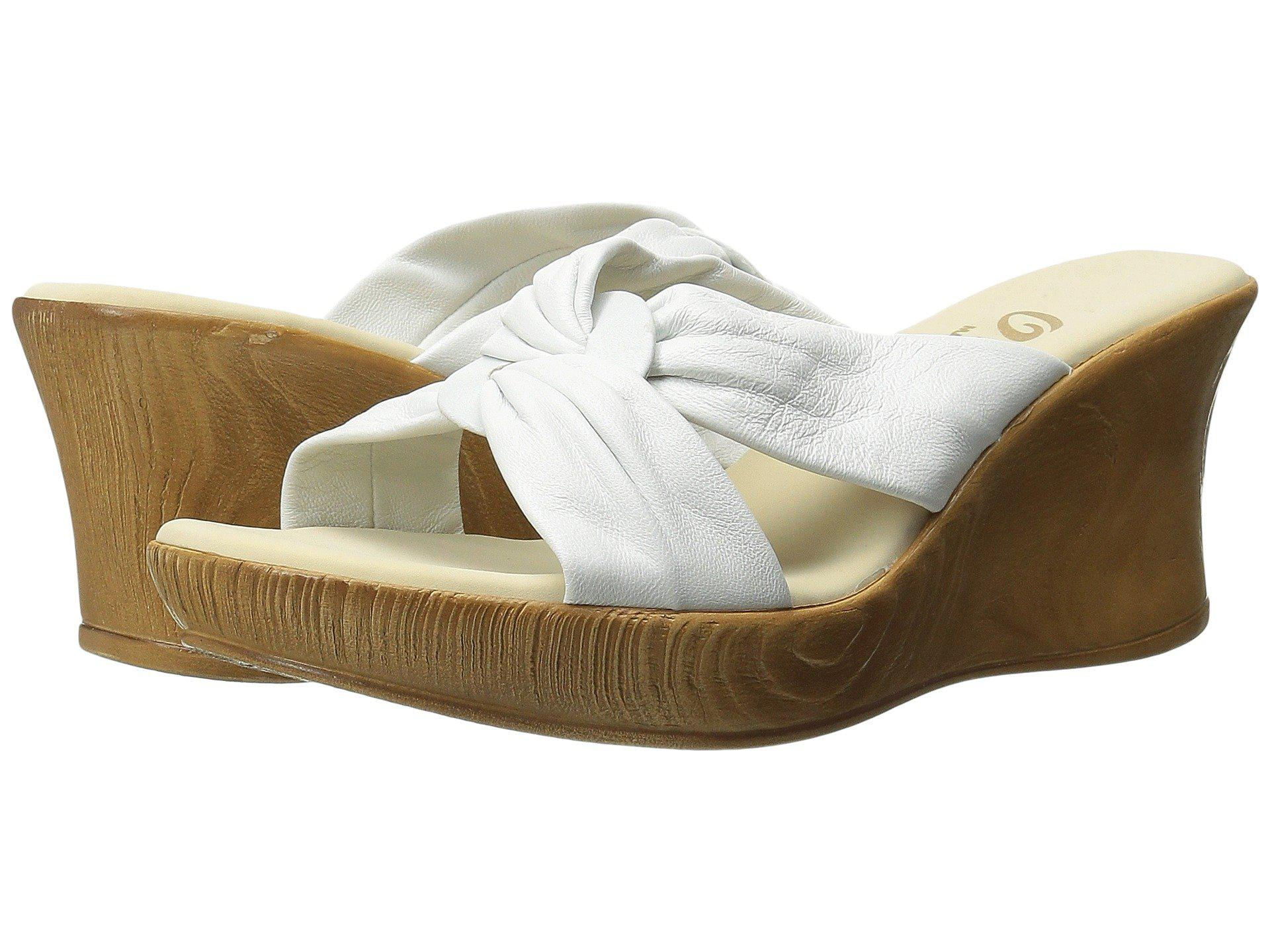 Lyst - Onex Puffy (white) Women s Wedge Shoes in White b65a70ba0e