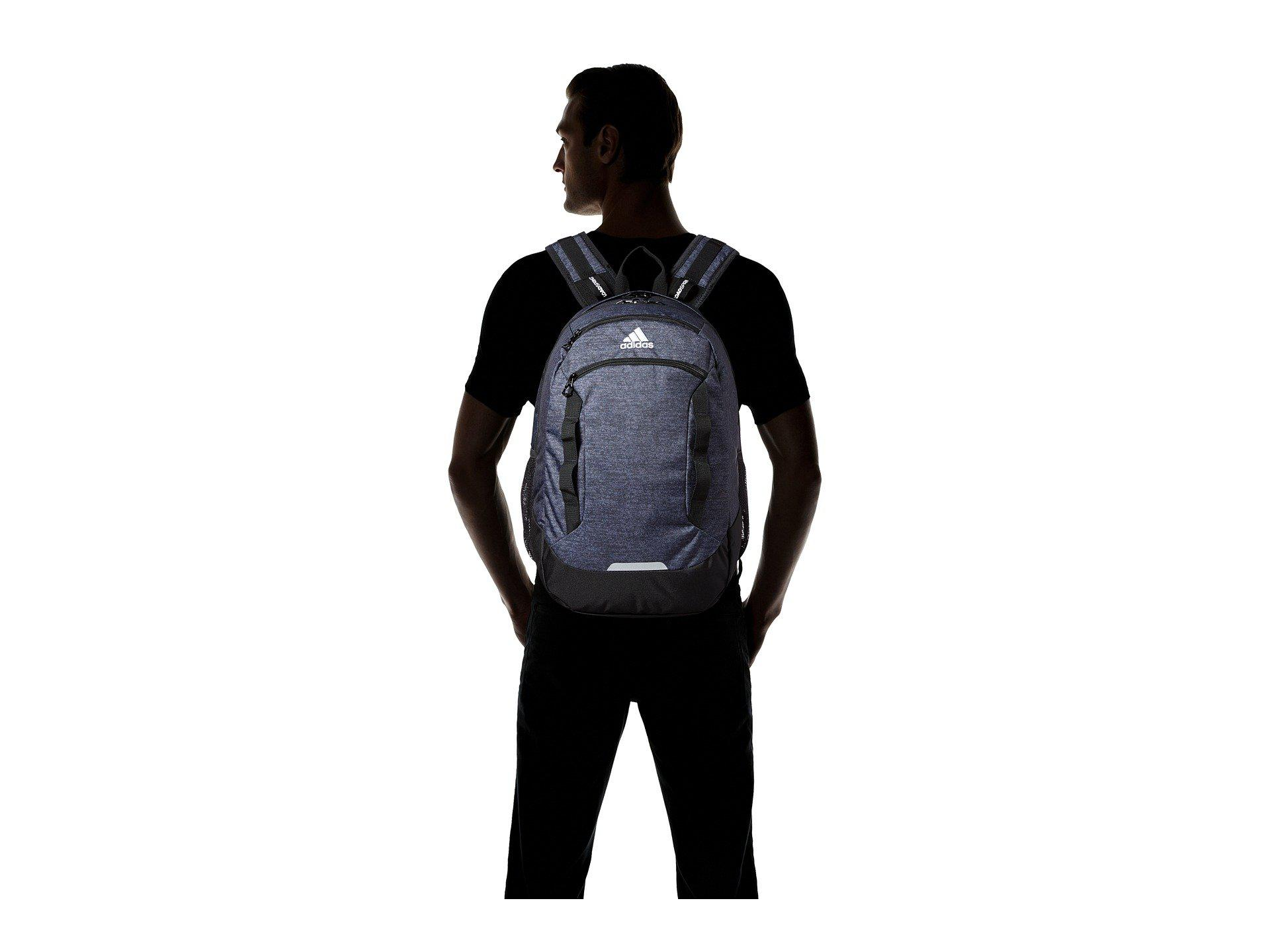 d45a73b6e445 Lyst - adidas Excel Iv Backpack (white Jersey black scarlet ...