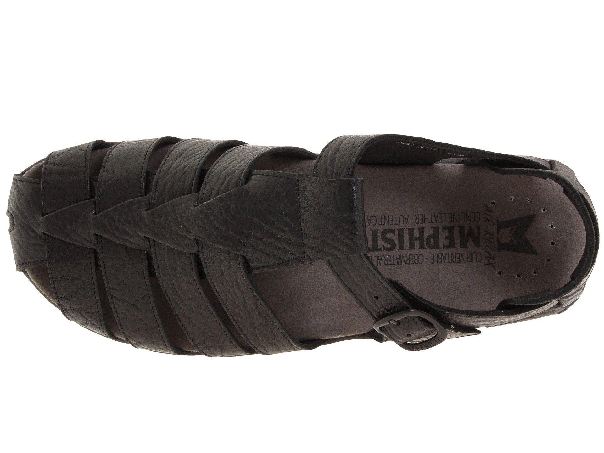 884a00dd939 Lyst - Mephisto Sam Sandal in Black for Men - Save 0.3460207612456685%