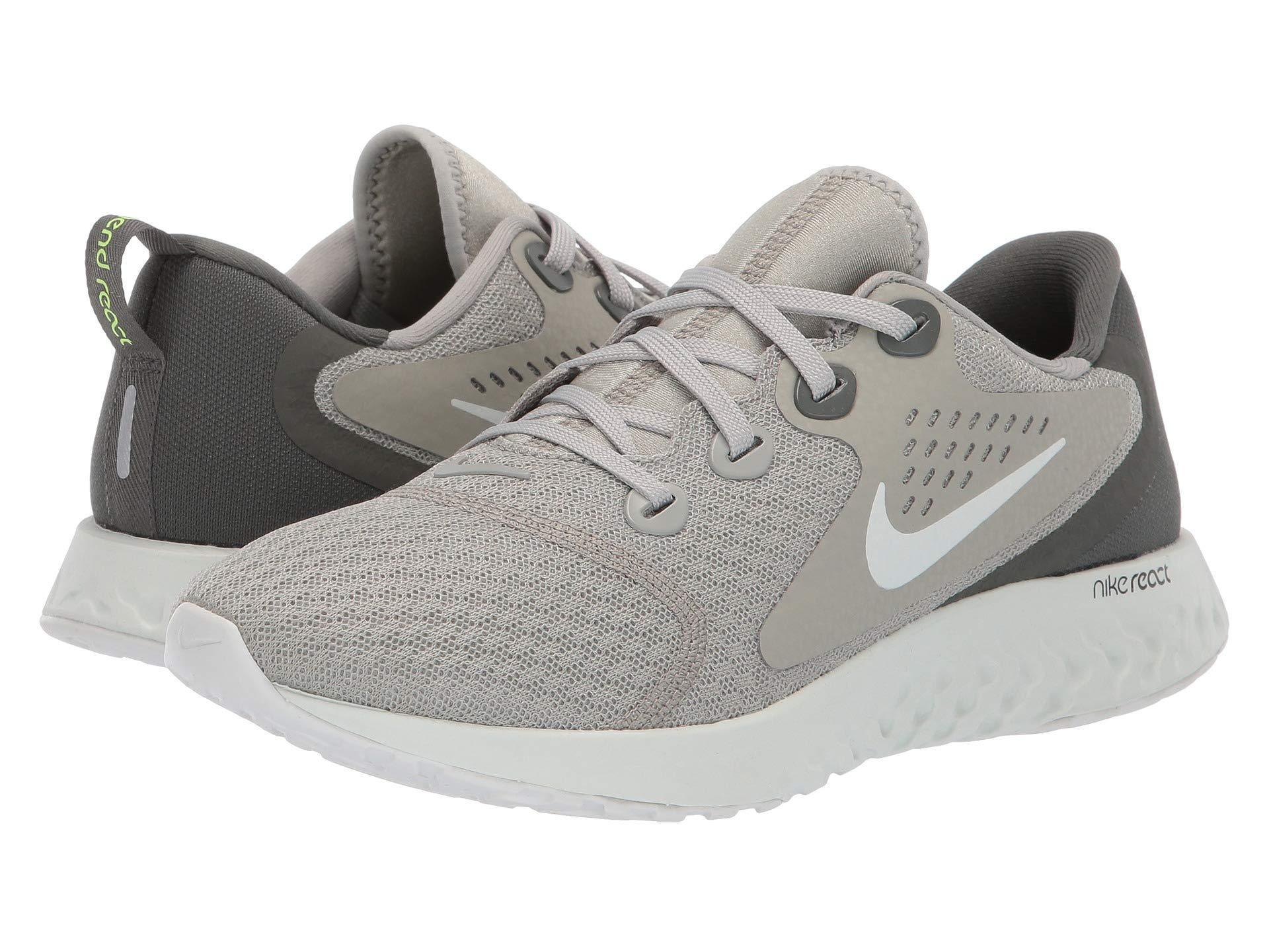 76616500019 Nike. Legend React (platinum Tint metallic Silver aluminum) Women s Running  Shoes