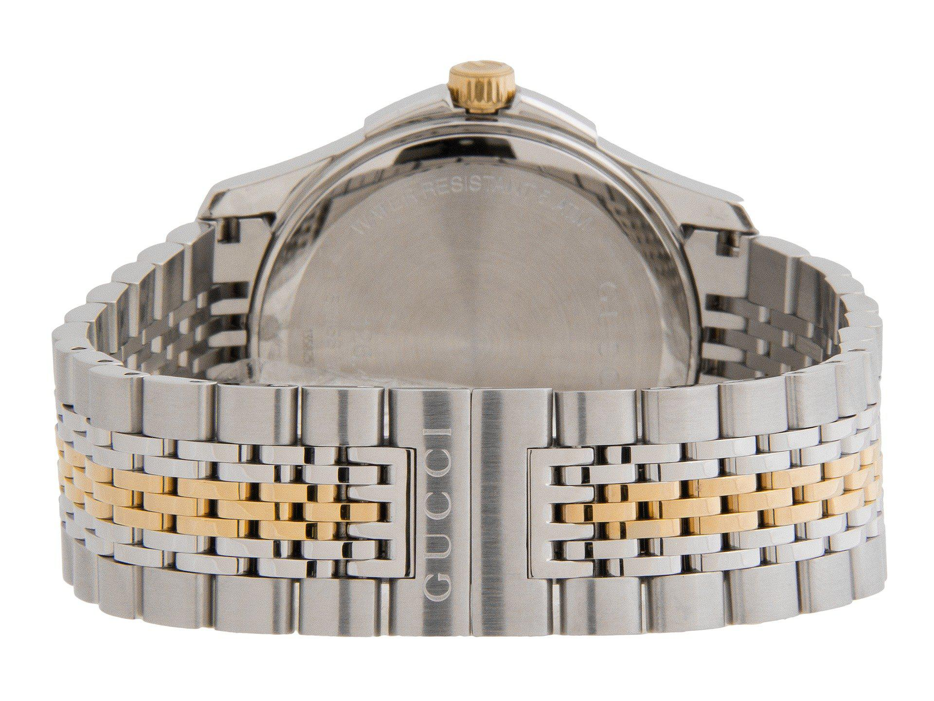7561f5c7c42 Lyst - Gucci G-timeless 38mm Two-tone Stainless Steel Watch-ya126409 ...
