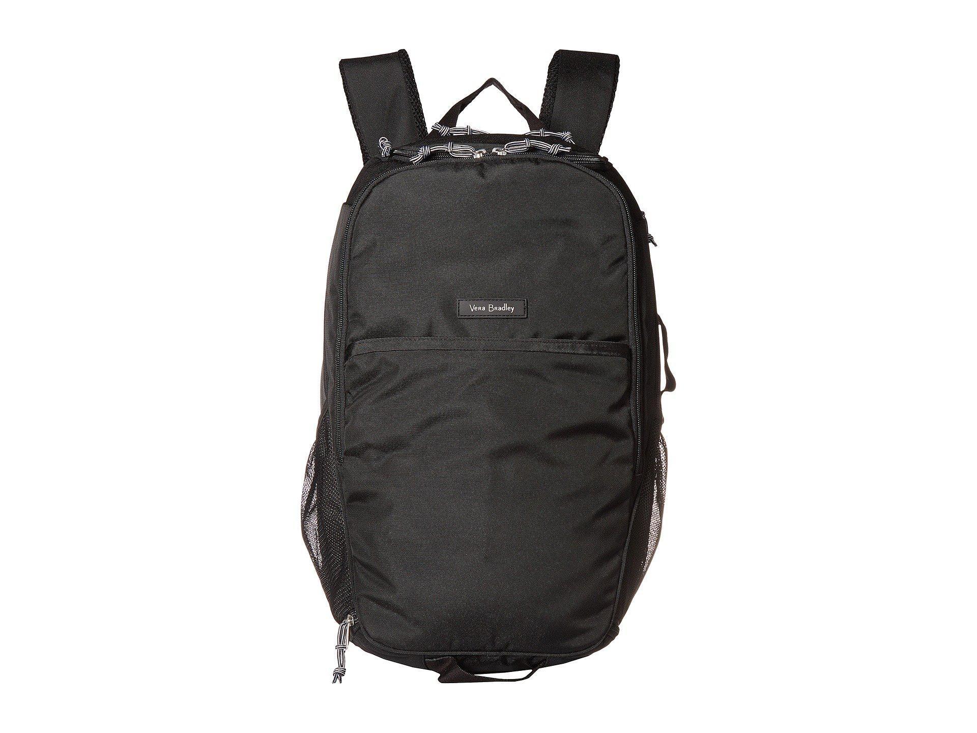 cdc37b8af9 Lyst - Vera Bradley Lighten Up Journey Backpack (black) Backpack ...