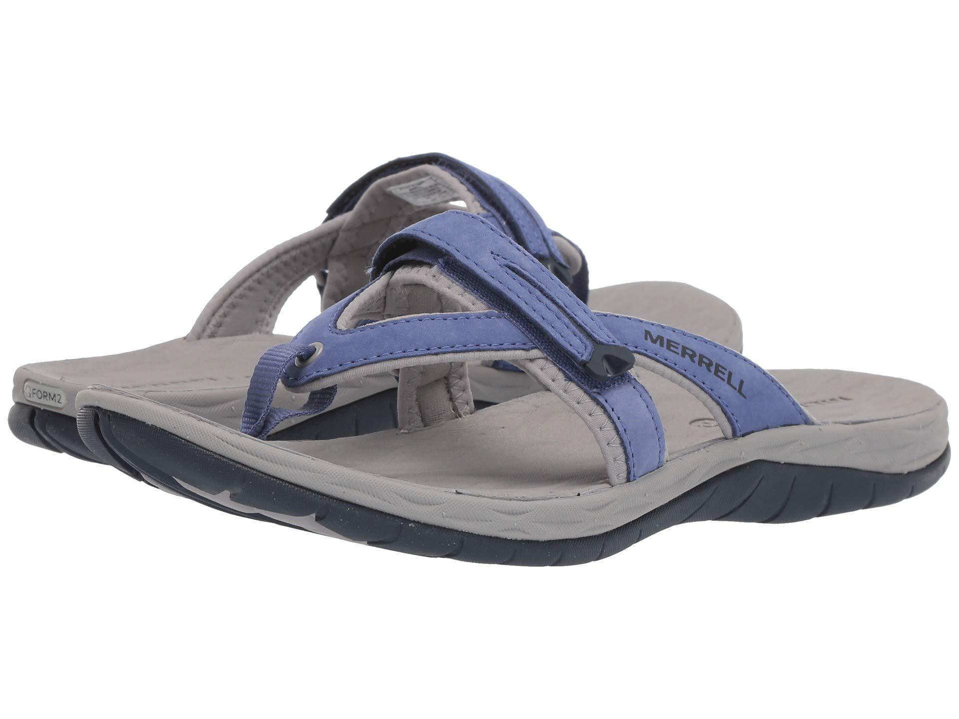 49580d1782a6 Merrell - Multicolor Siren Flip Q2 (velvet Morning) Women s Sandals - Lyst.  View fullscreen