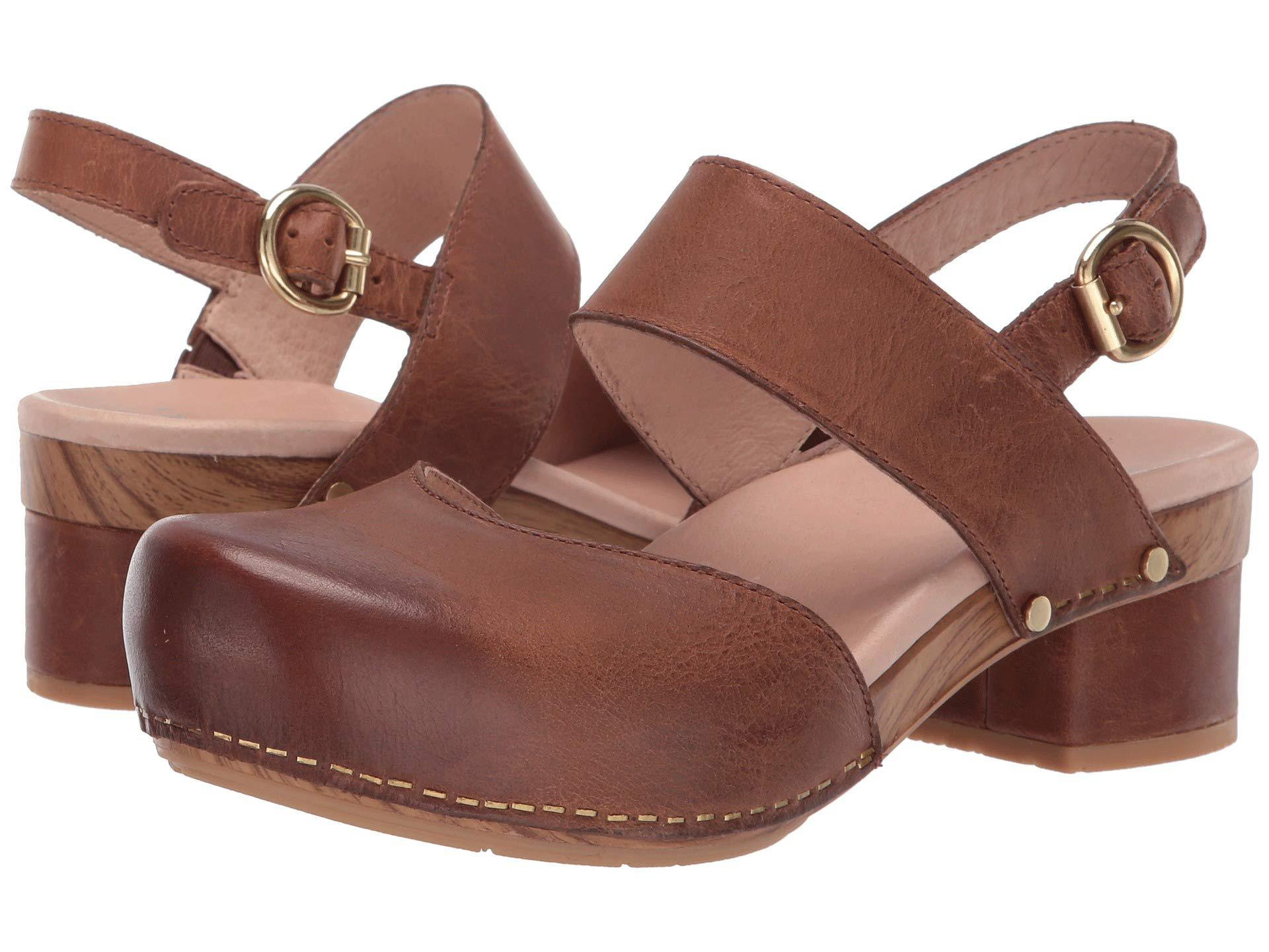a0b389bf34dc Lyst - Dansko Malin (tan Waxy Burnished) Women s Shoes in Brown