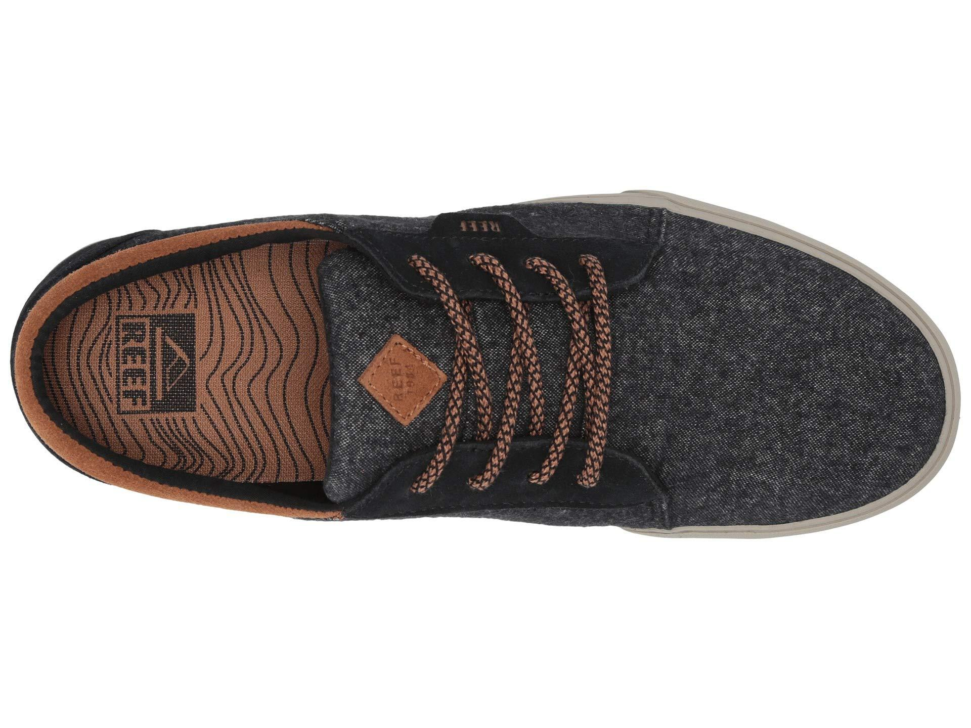 91ca37b9164a5 Reef - Ridge Tx (black tobacco) Men s Lace Up Casual Shoes for Men. View  fullscreen
