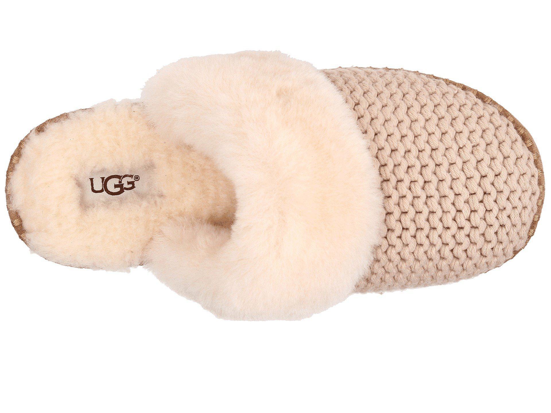 bb2f63af3b2 Lyst - Ugg Aira Knit (grey) Women s Slippers