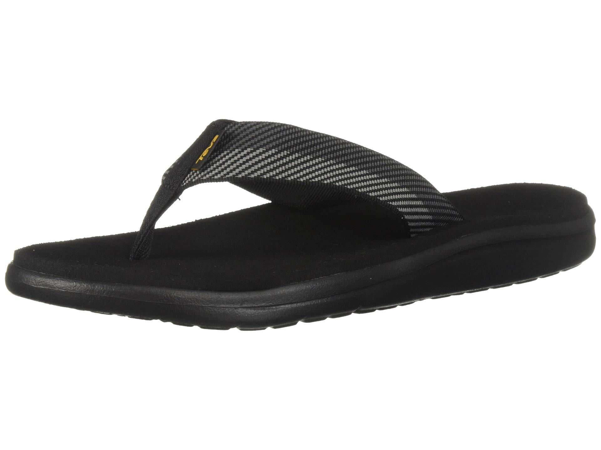 976f87468 Lyst - Teva Voya Flip (zook Black) Men s Sandals in Black for Men