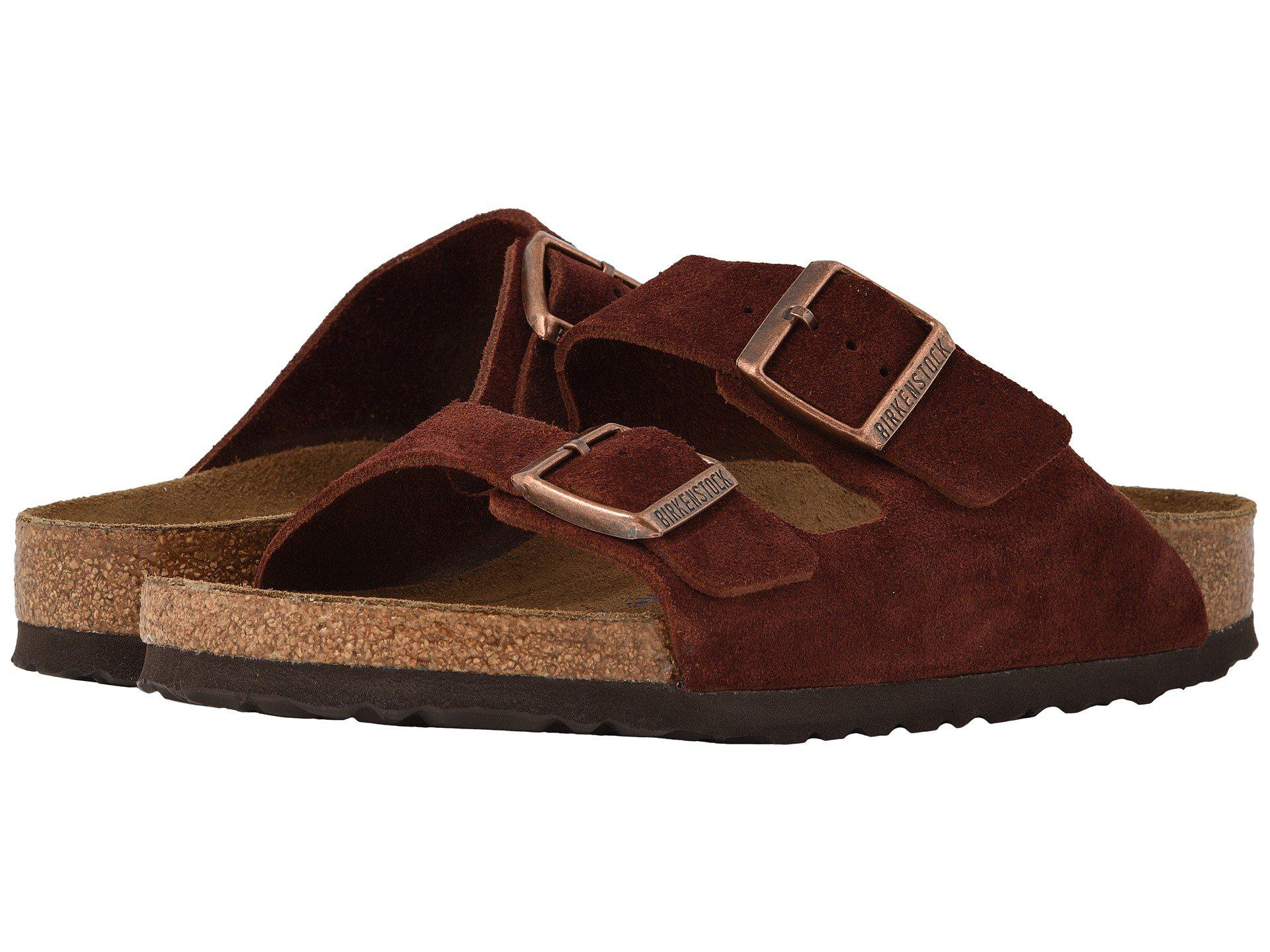 4080a85a Birkenstock Arizona Soft Footbed in Brown - Lyst