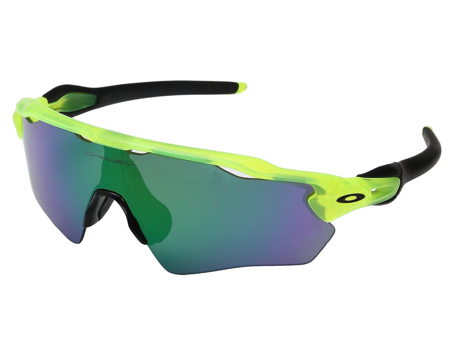 3db1f661c0 Oakley. Men s Green Radar Ev Xs Path (youth Fit) (polished Black W  Black  Iridium Polarized) Fashion Sunglasses