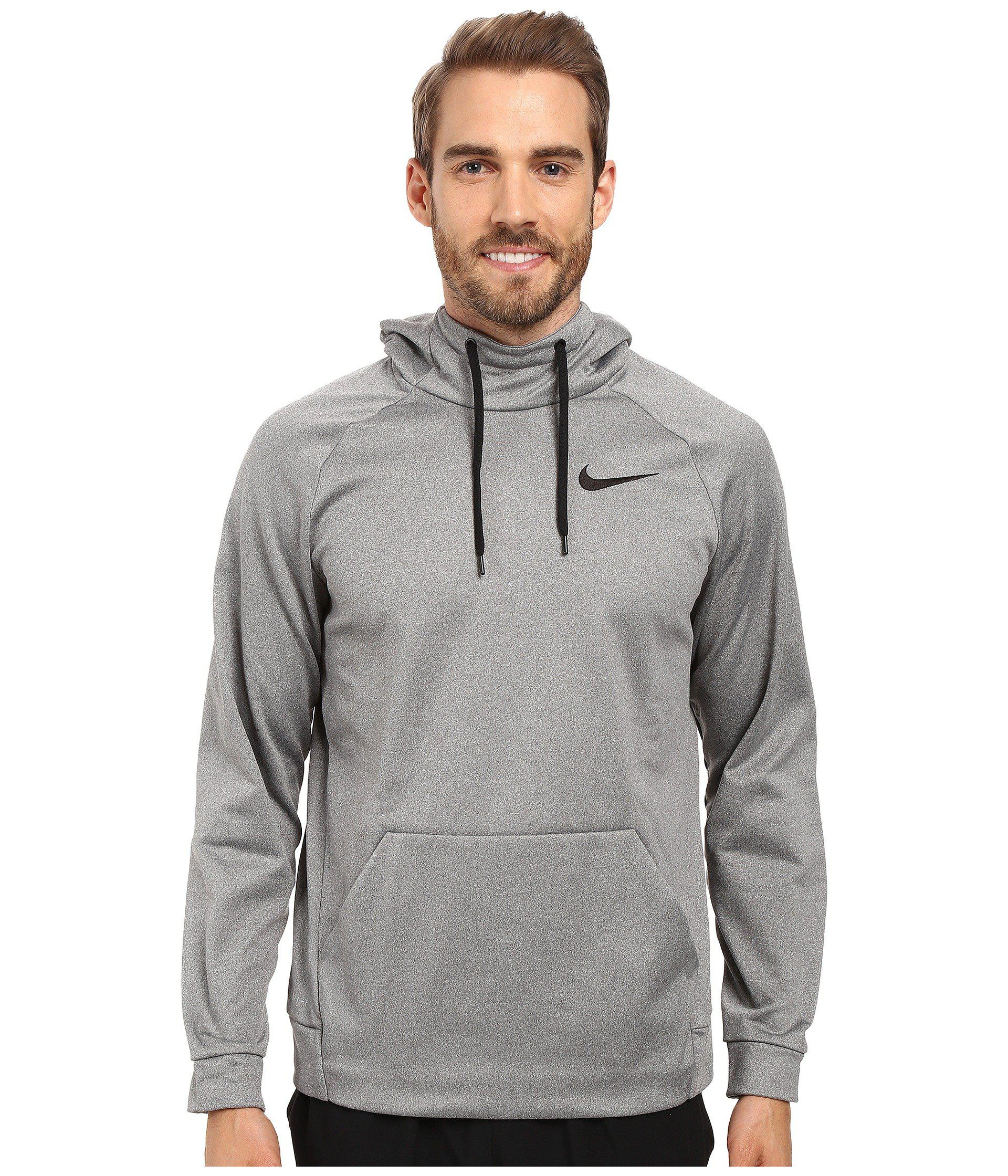 f6c17ad35a5 Nike Therma Pullover Training Hoodie in Black for Men - Lyst
