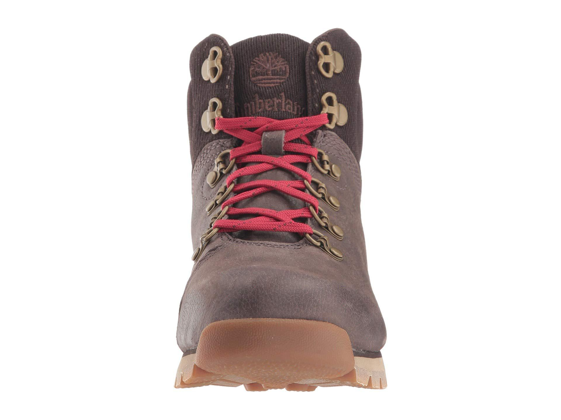 15aaa7a602ad Timberland - Alderwood Mid (dark Brown Full Grain) Women s Lace-up Boots -