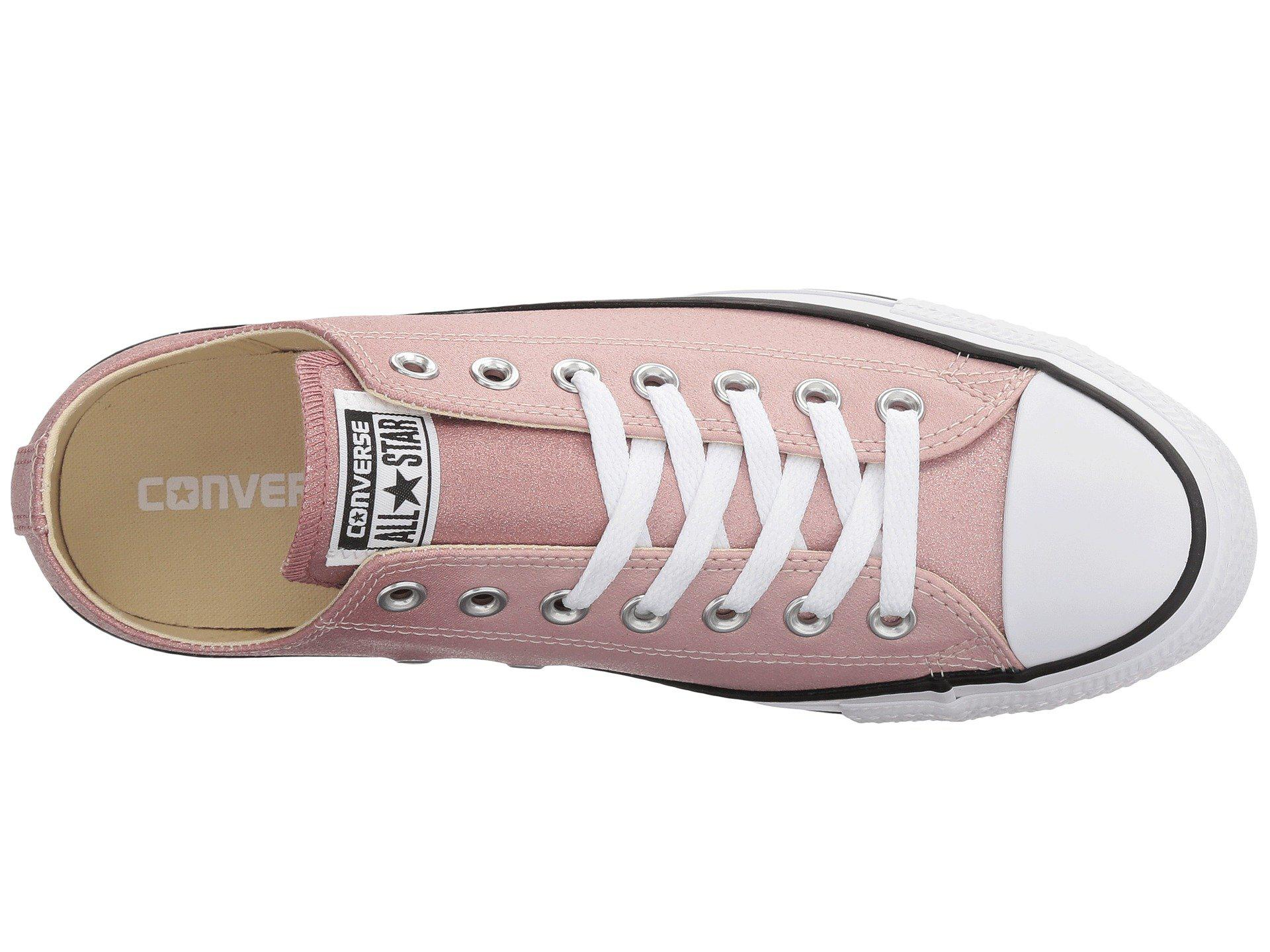 962dabd79268 Lyst - Converse Chuck Taylor® All Star Canvas Ombre Metallics Ox in Pink