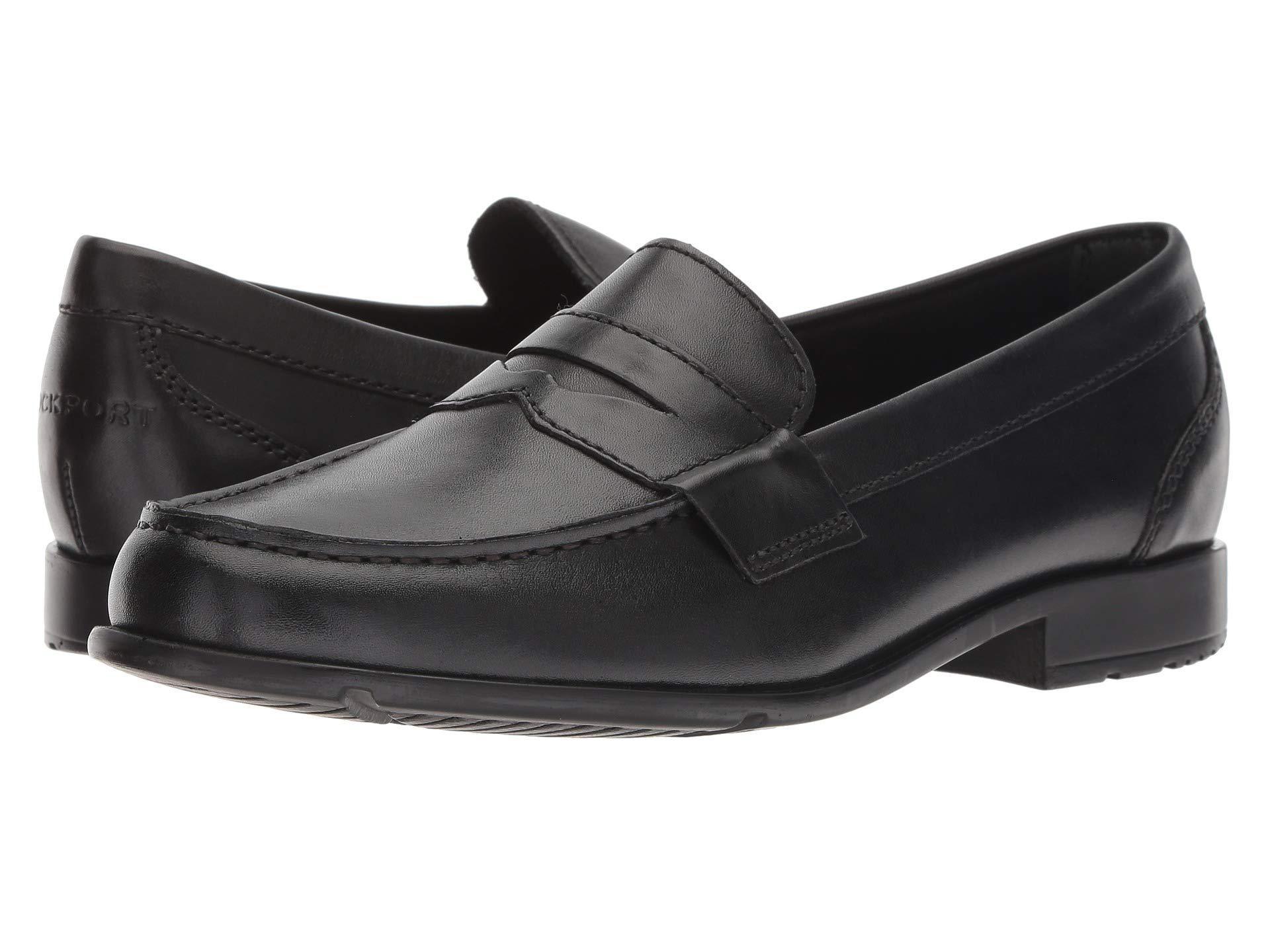 92252cceac7 Lyst - Rockport Classic Loafer Lite Penny (dark Brown1) Men s Slip ...