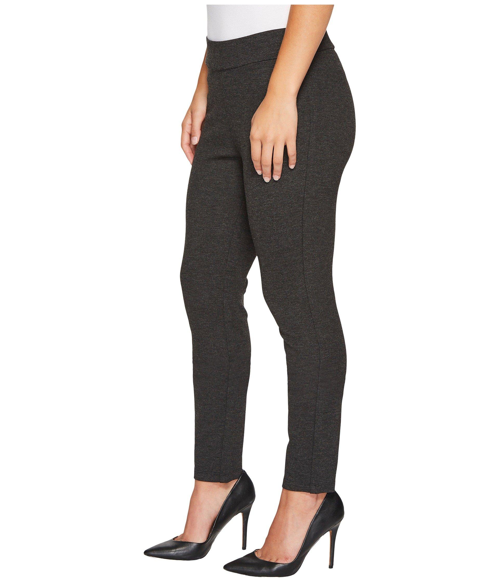 7debce7a89be2 Lyst - NYDJ Petite Basic Ponte Leggings In Charcoal (charcoal) Women's Jeans  in Gray - Save 7%