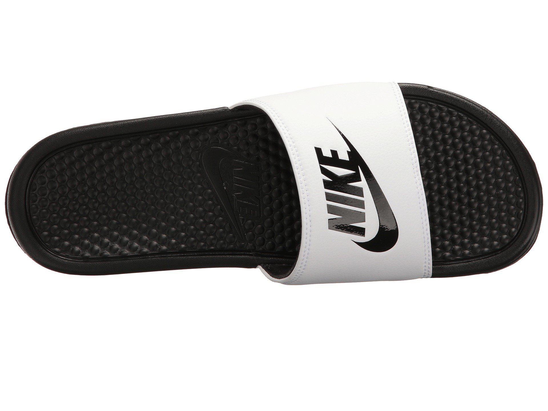 4dc94fa807af Nike - Benassi Jdi Slide (black white) Men s Slide Shoes for Men -. View  fullscreen