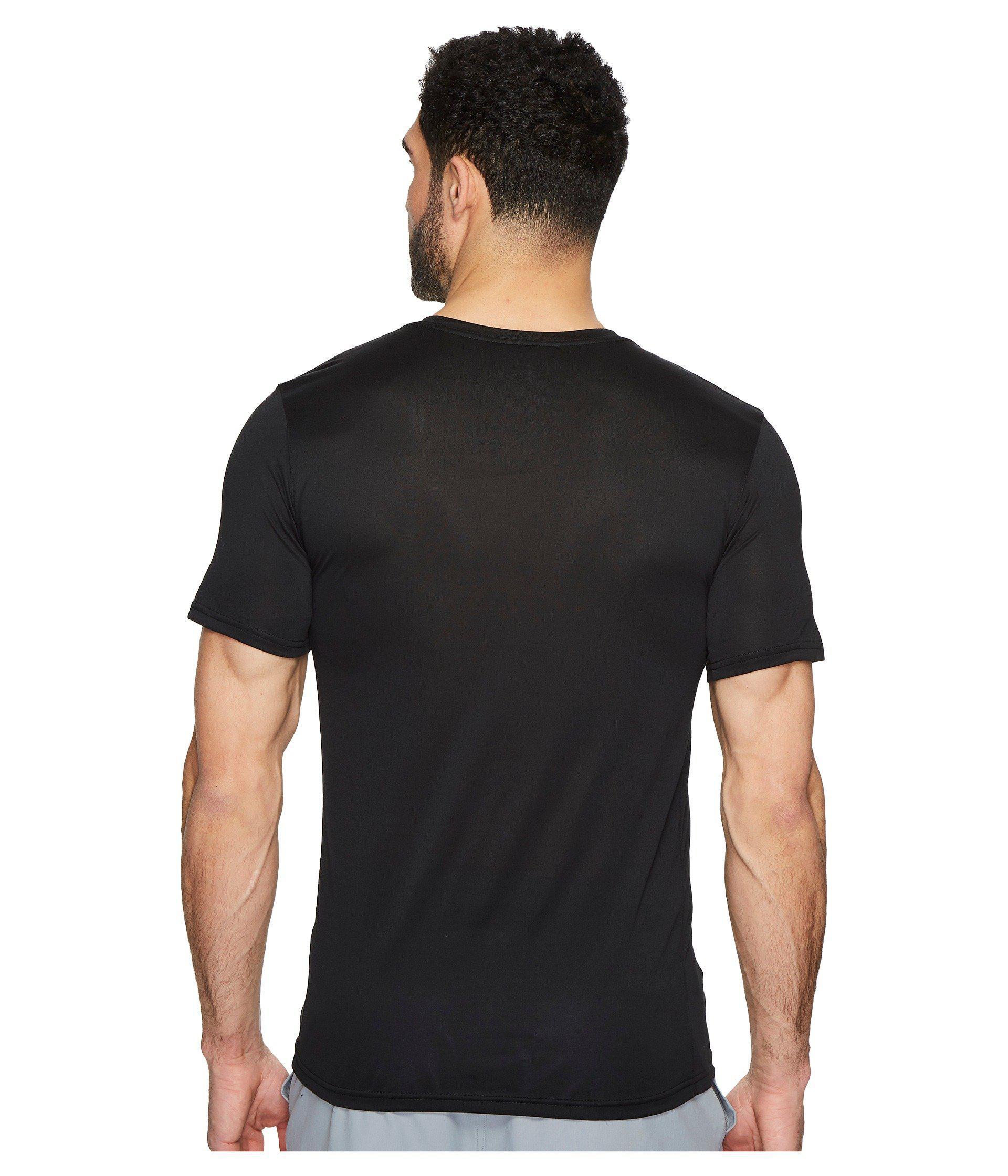 86b3e607dd2bb Nike Dry Legend Camo Fill Training T-shirt (black) Men's Clothing in ...
