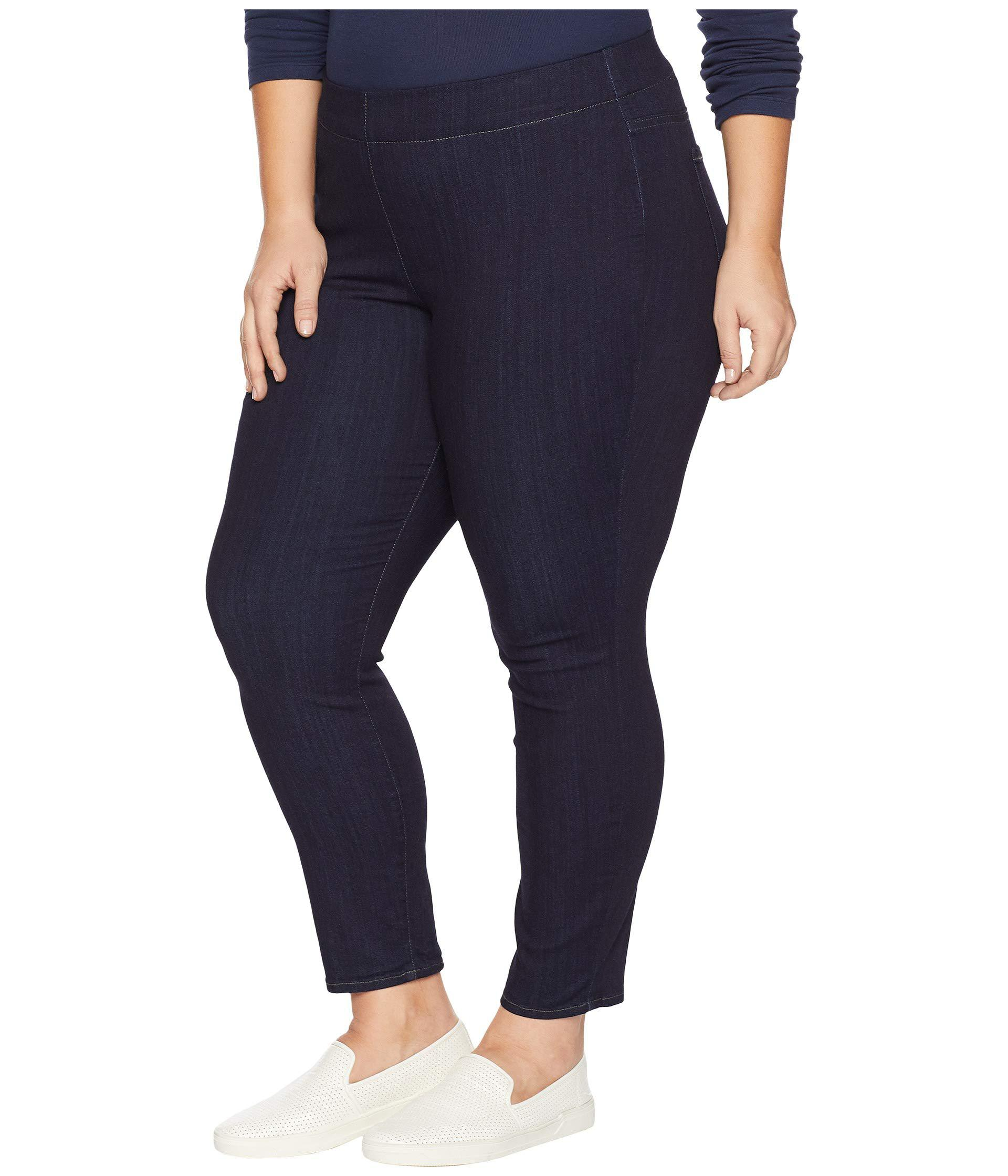74796fed934 Lyst - Nydj Plus Size Pull-on Skinny Ankle In Mabel (mabel) Women s Jeans  in Blue