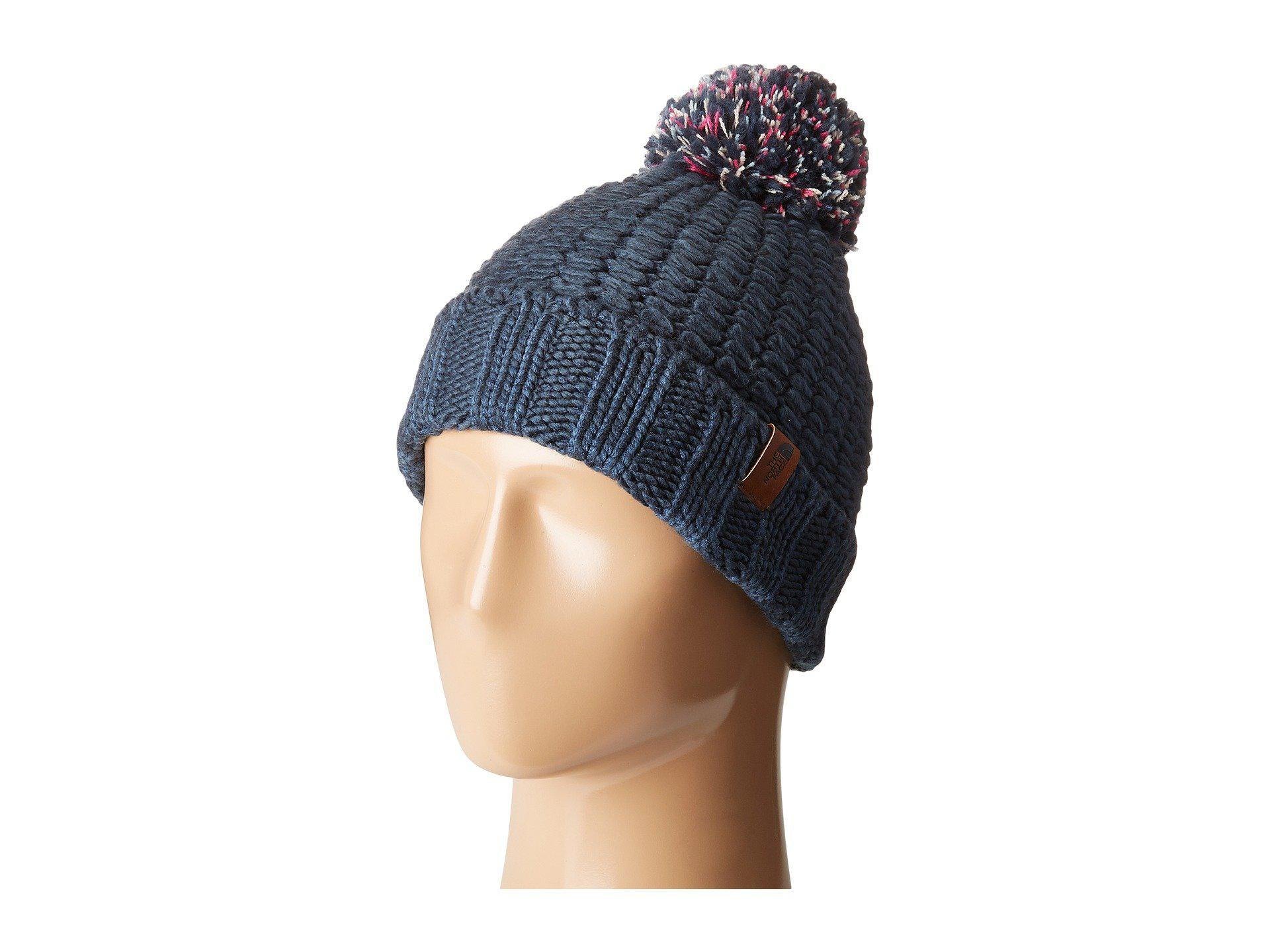 ddf5d48e The North Face Cozy Chunky Beanie in Blue - Lyst