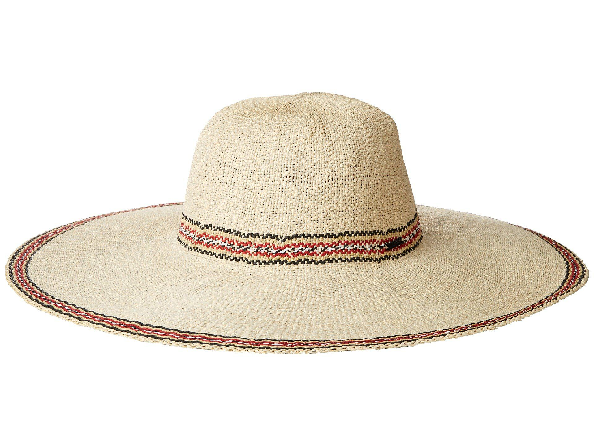 c350250dc61ca Roxy Under The Coconuts (natural) Traditional Hats in Natural - Lyst