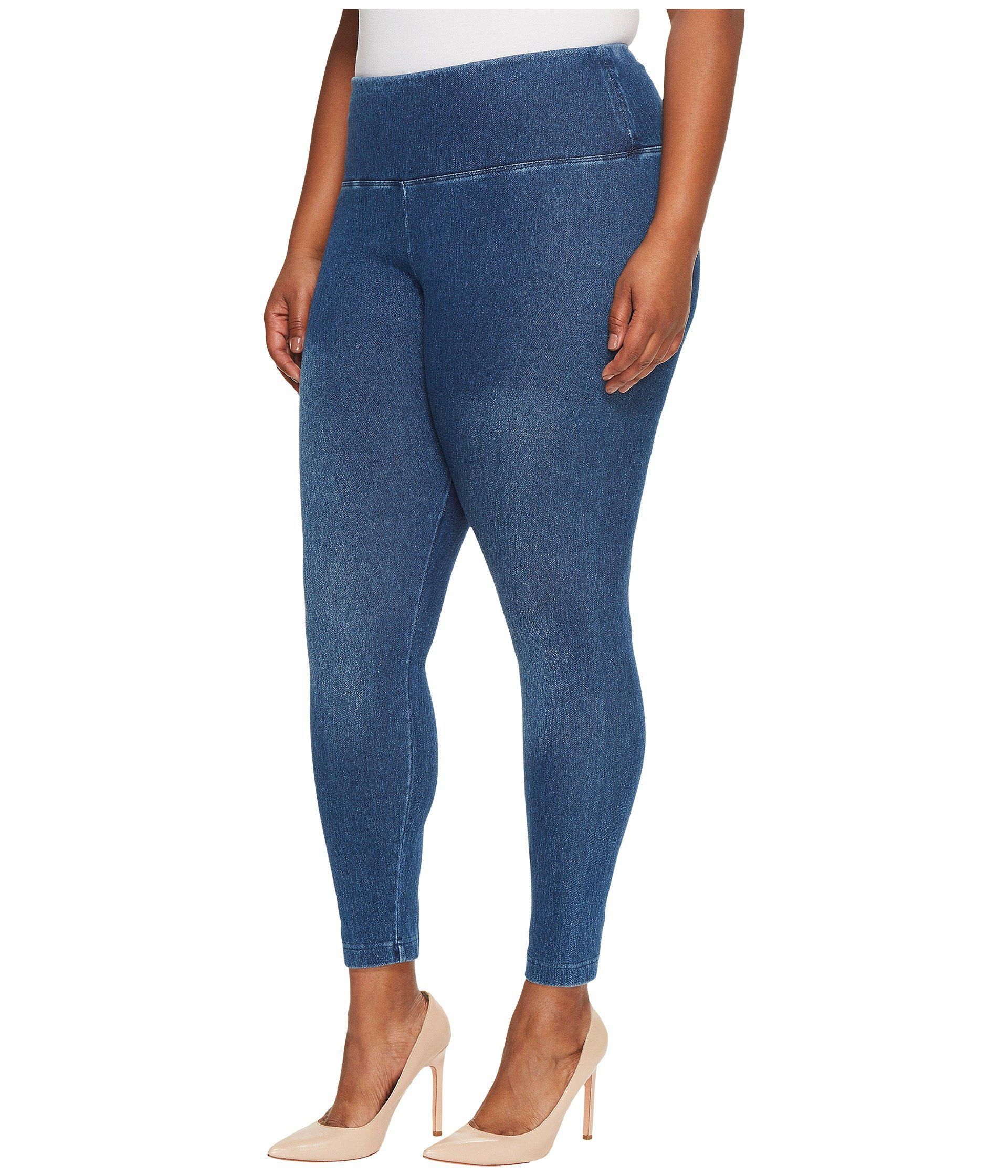 Plus Size Denim with Leggings